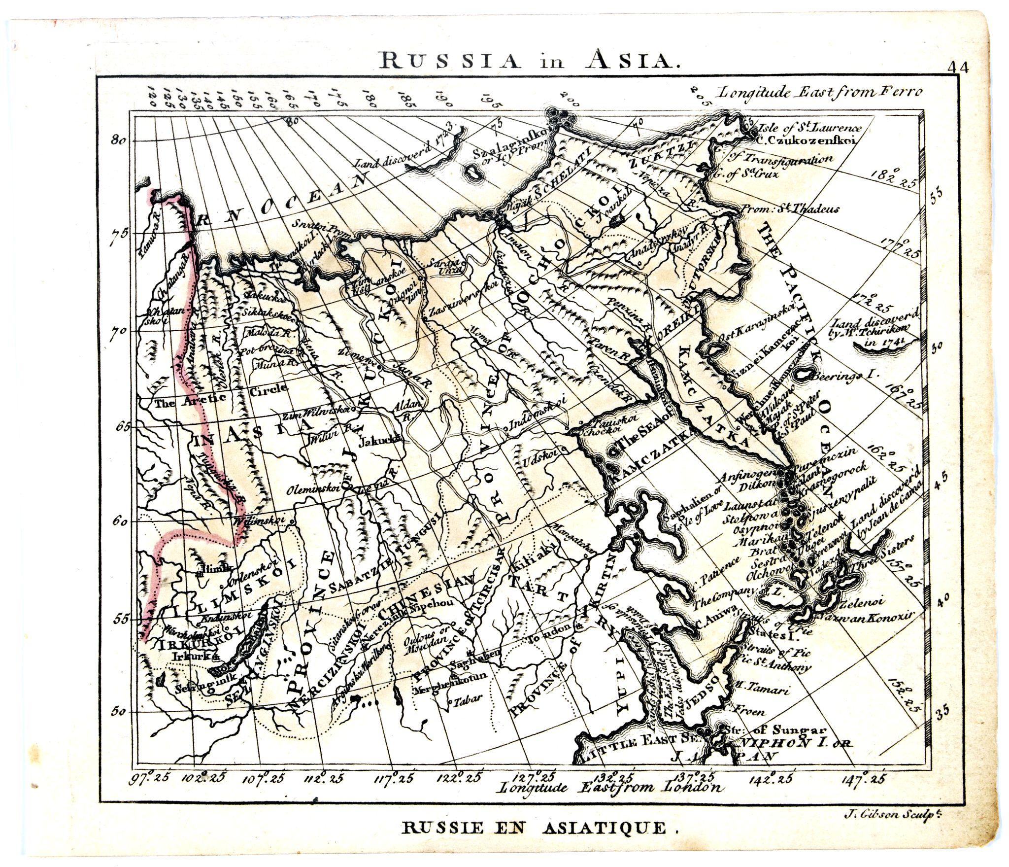 DURY, A. / SAYER, R. / KITCHIN, T. -  Russia in Asia.