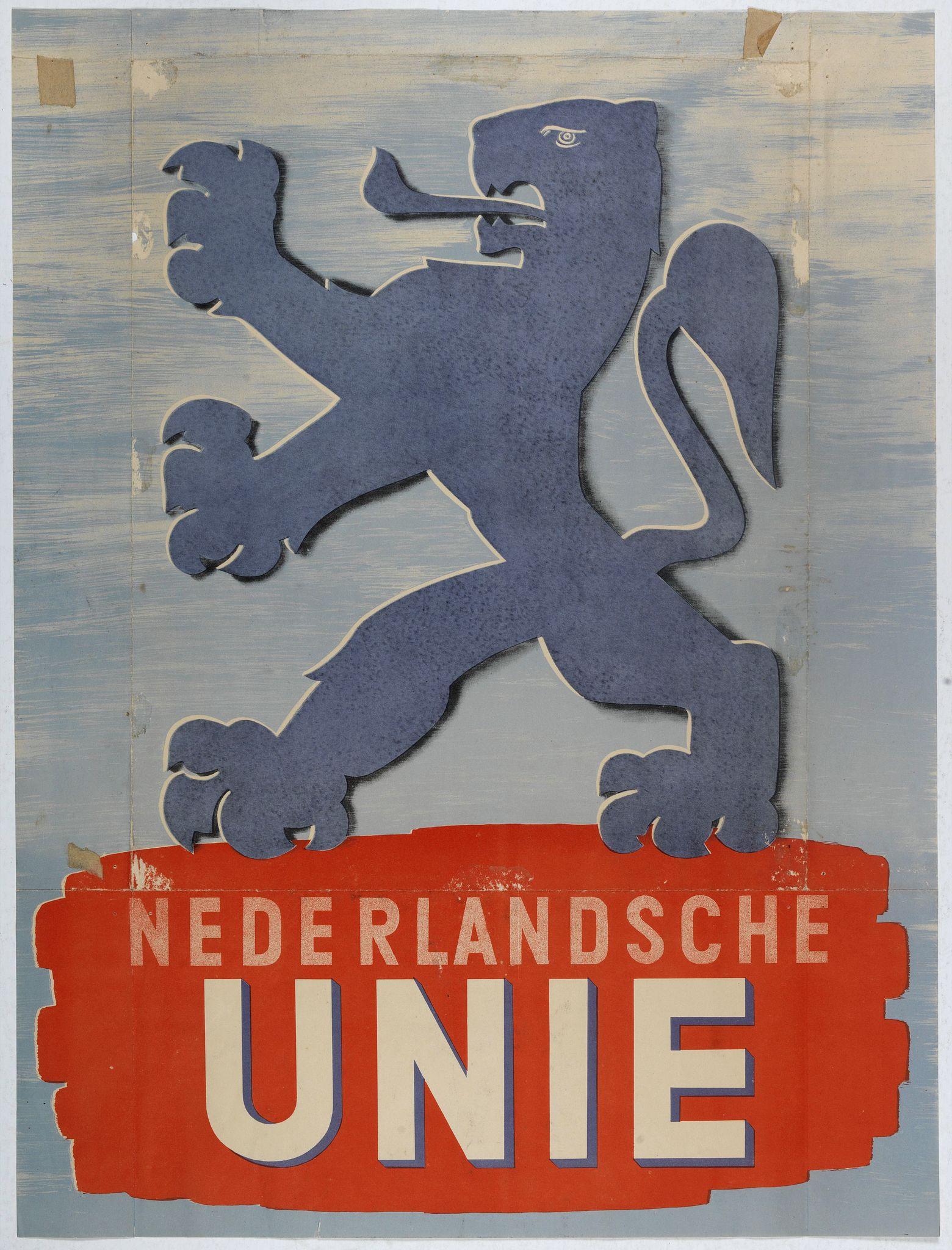 ANONYMOUS -  Nederlandsche unie.