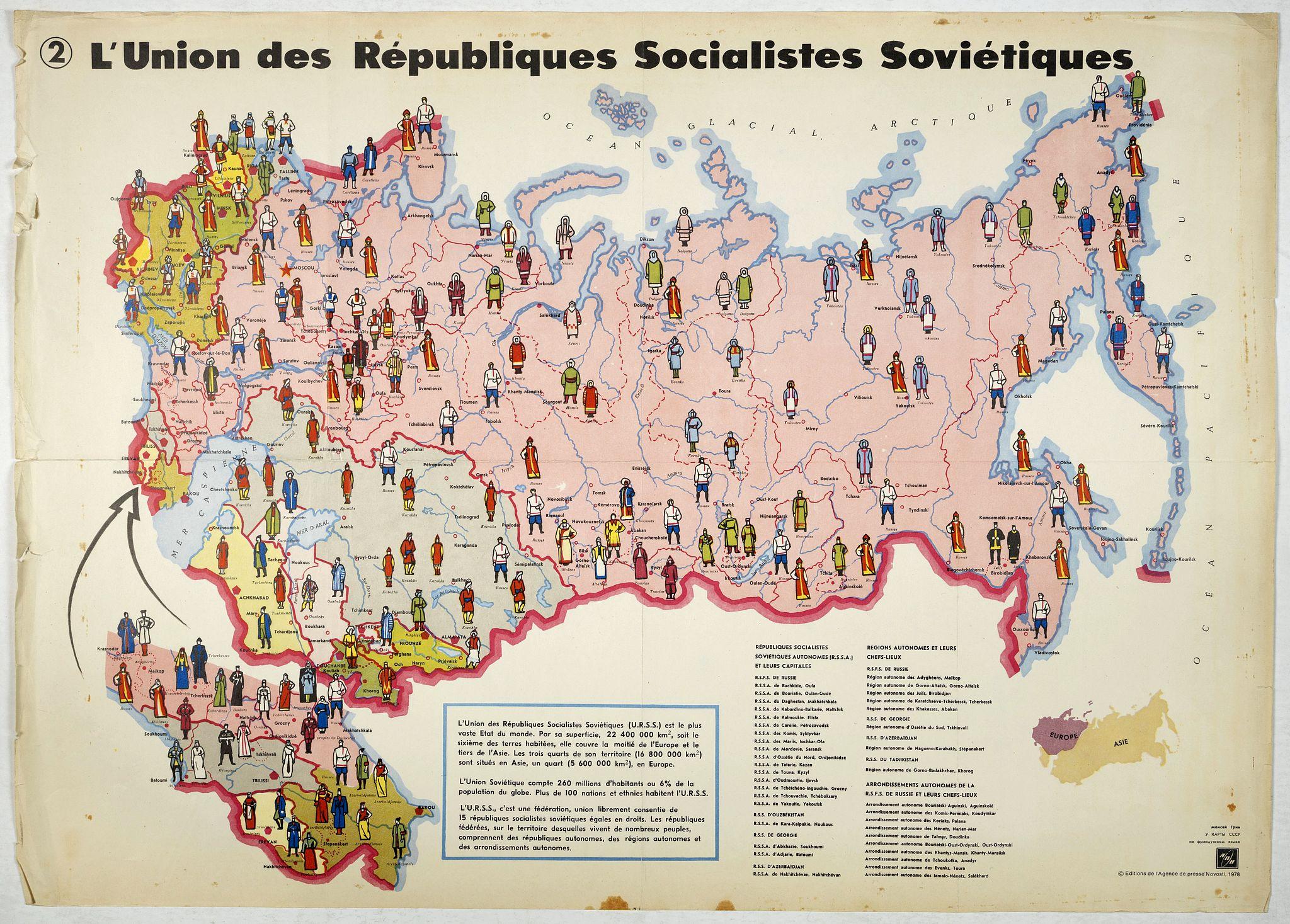 AGENCE DE PRESSE NOVOSTI -  L'Union des Républiques socialistes Soviétiques. (2)