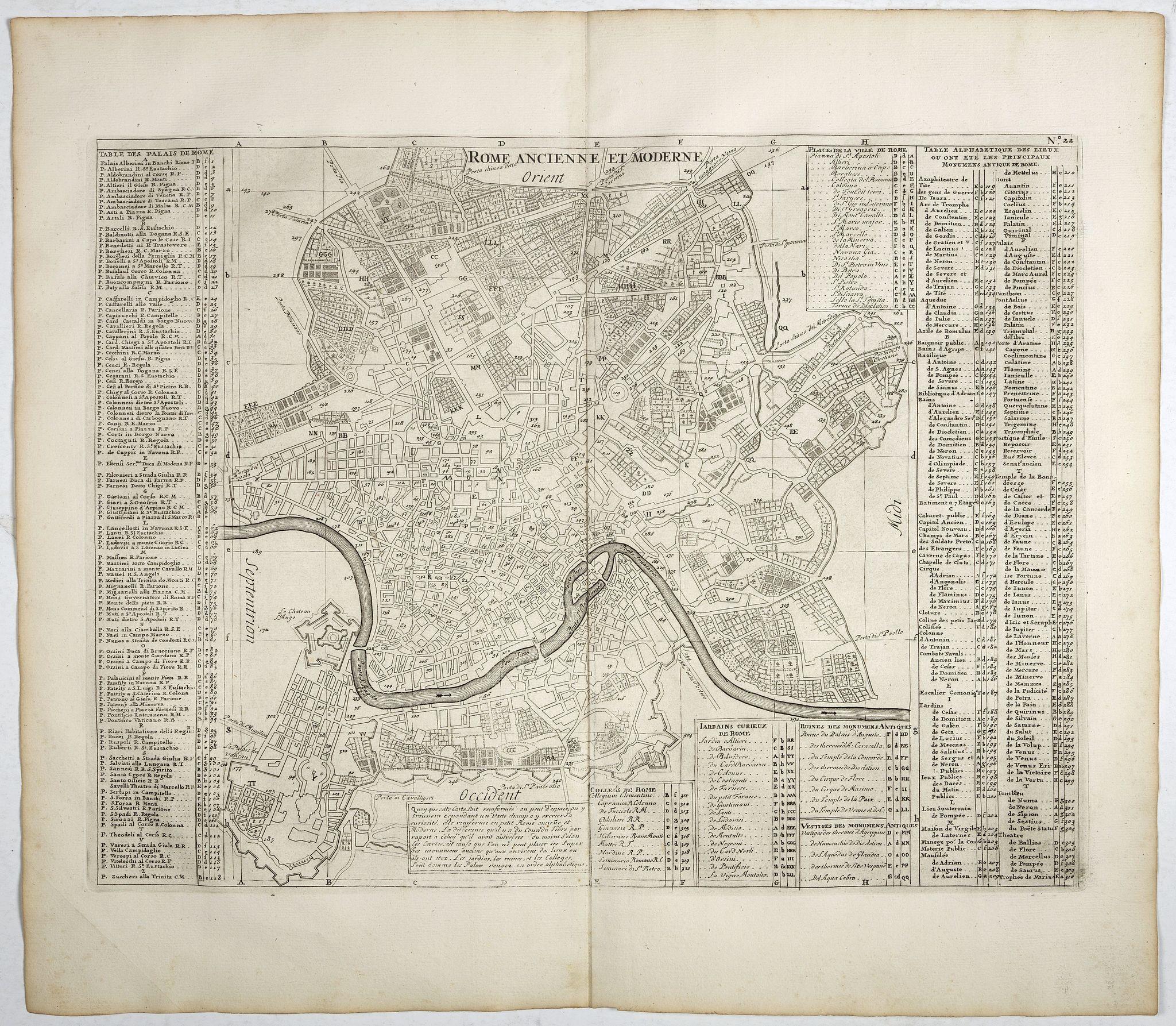 CHATELAIN,H. -  Rome Ancienne et Moderne.