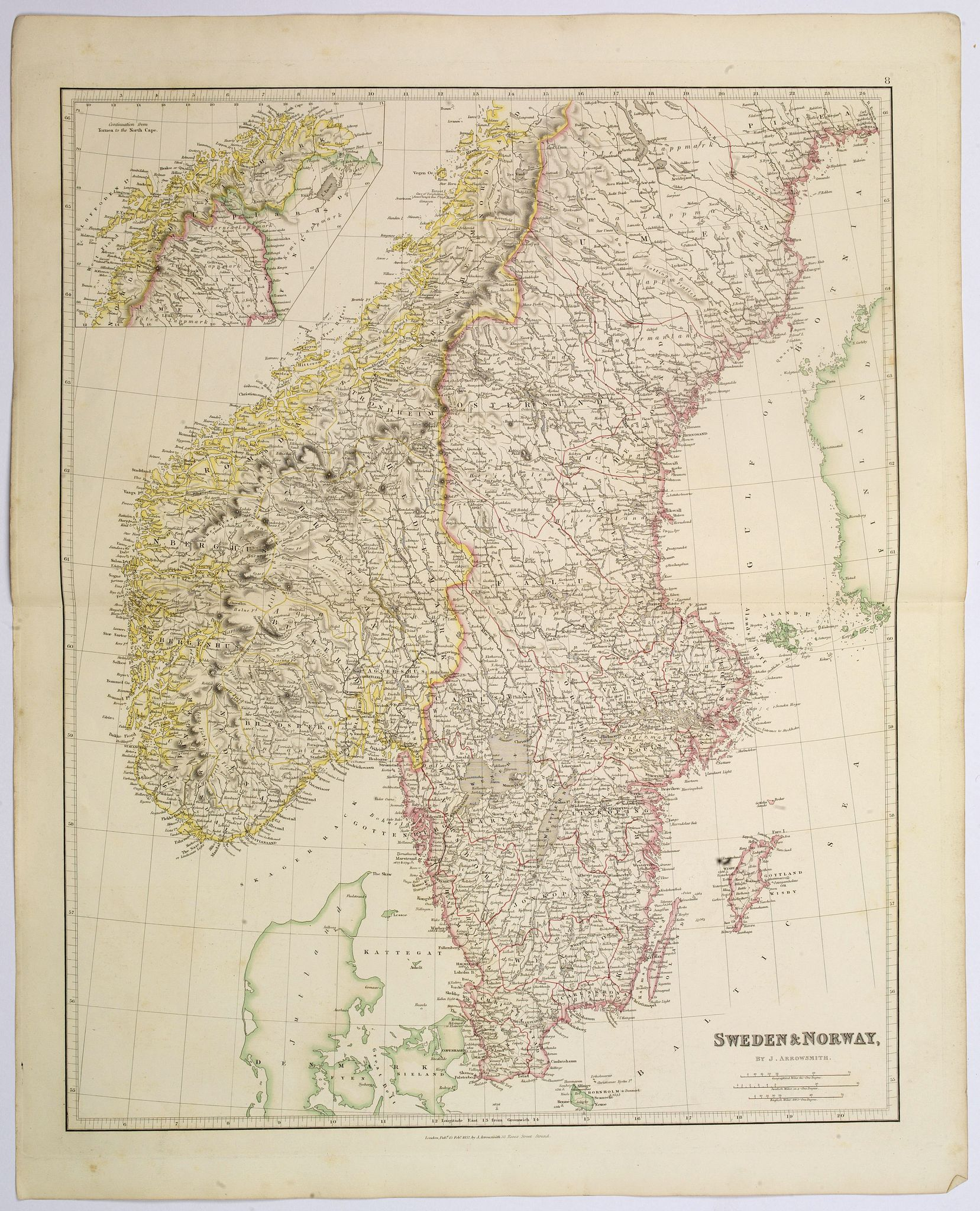ARROWSMITH, John -  Sweden & Norway.