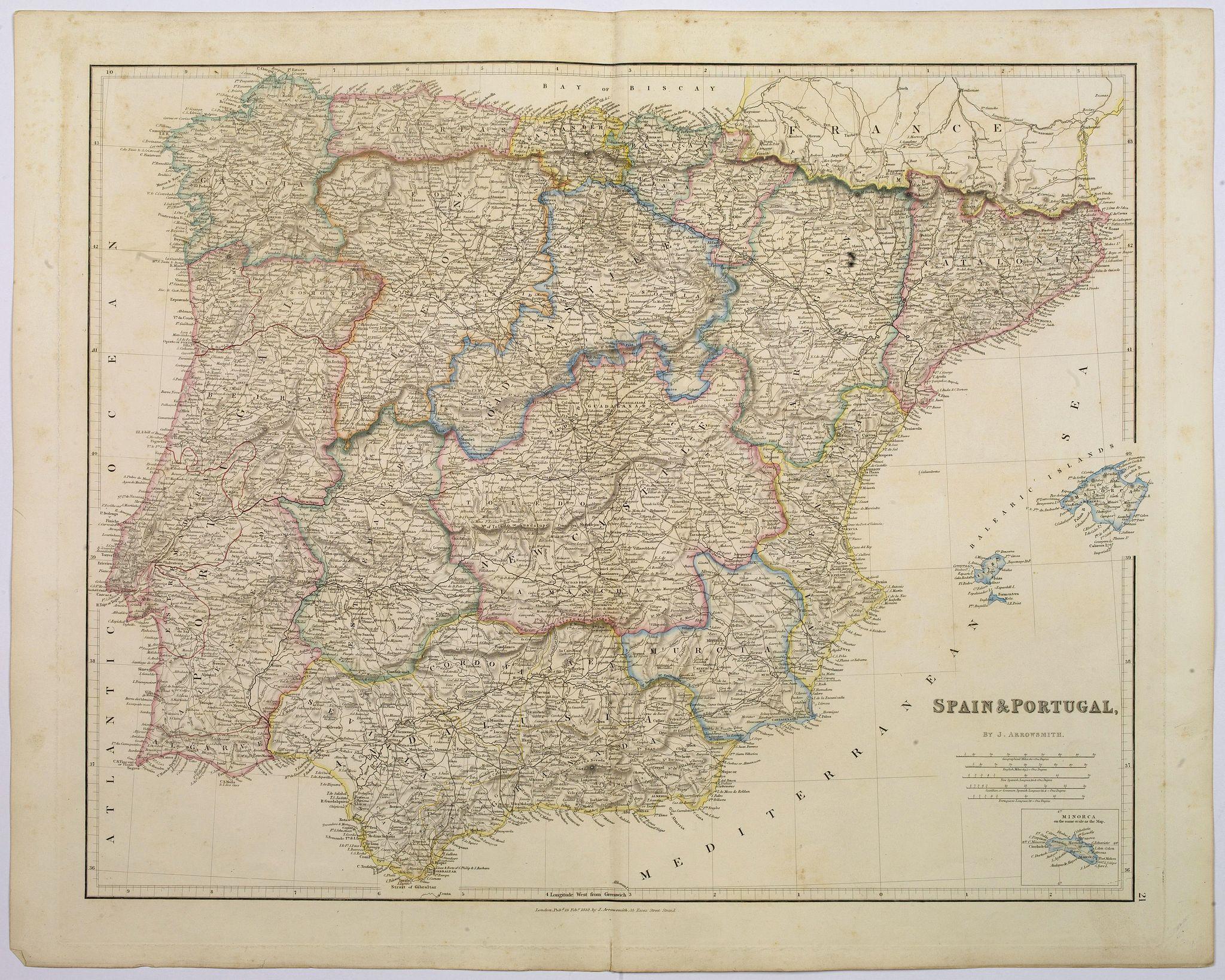 ARROWSMITH, John -  Spain & Portugal.