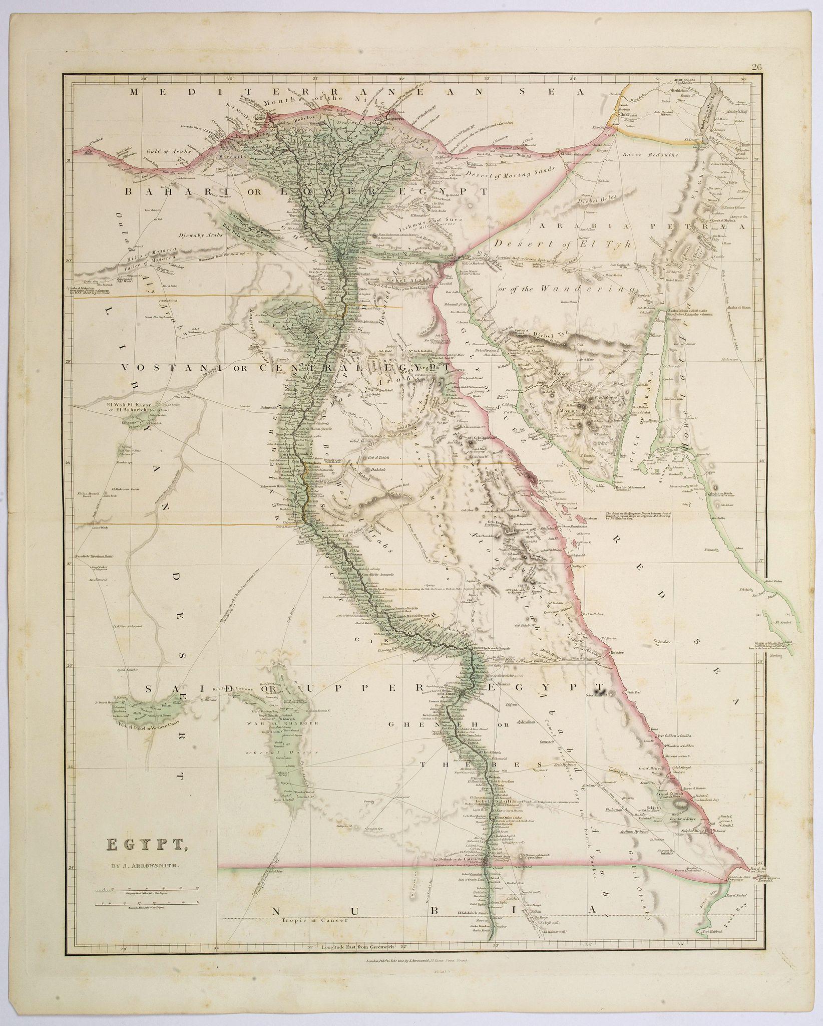 ARROWSMITH, John -  Egypt.