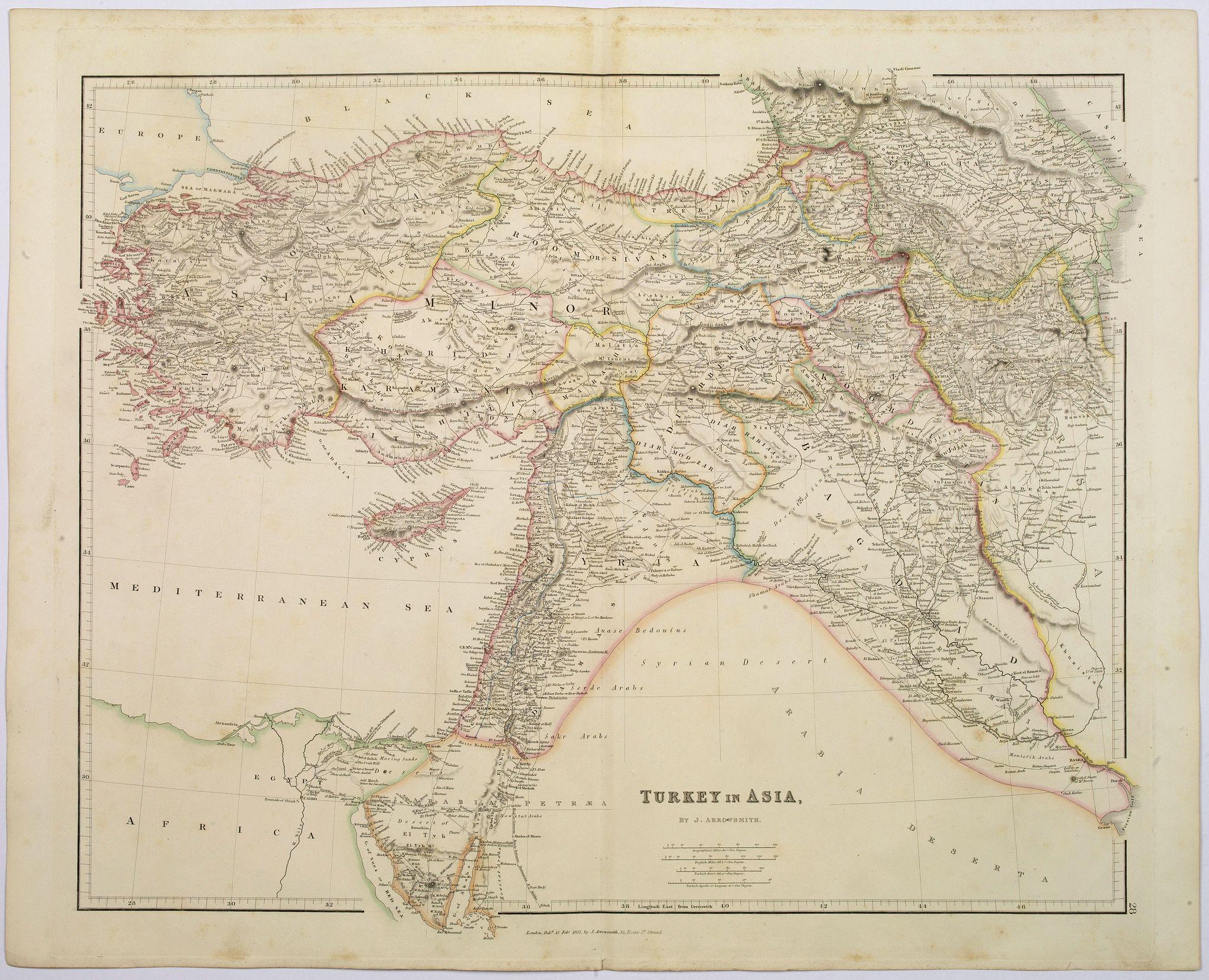 ARROWSMITH, John -  Turkey in Asia.