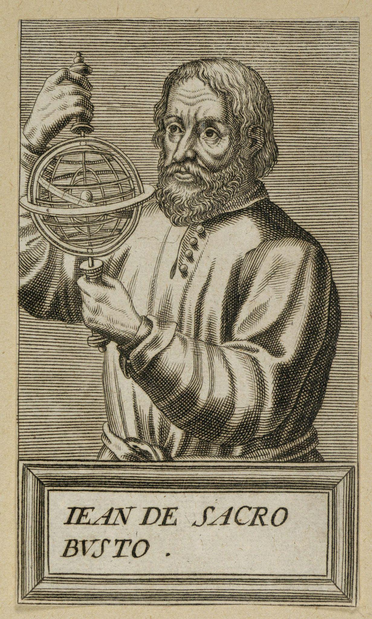 ANONYMOUS -  Jean De Sacro Busto.