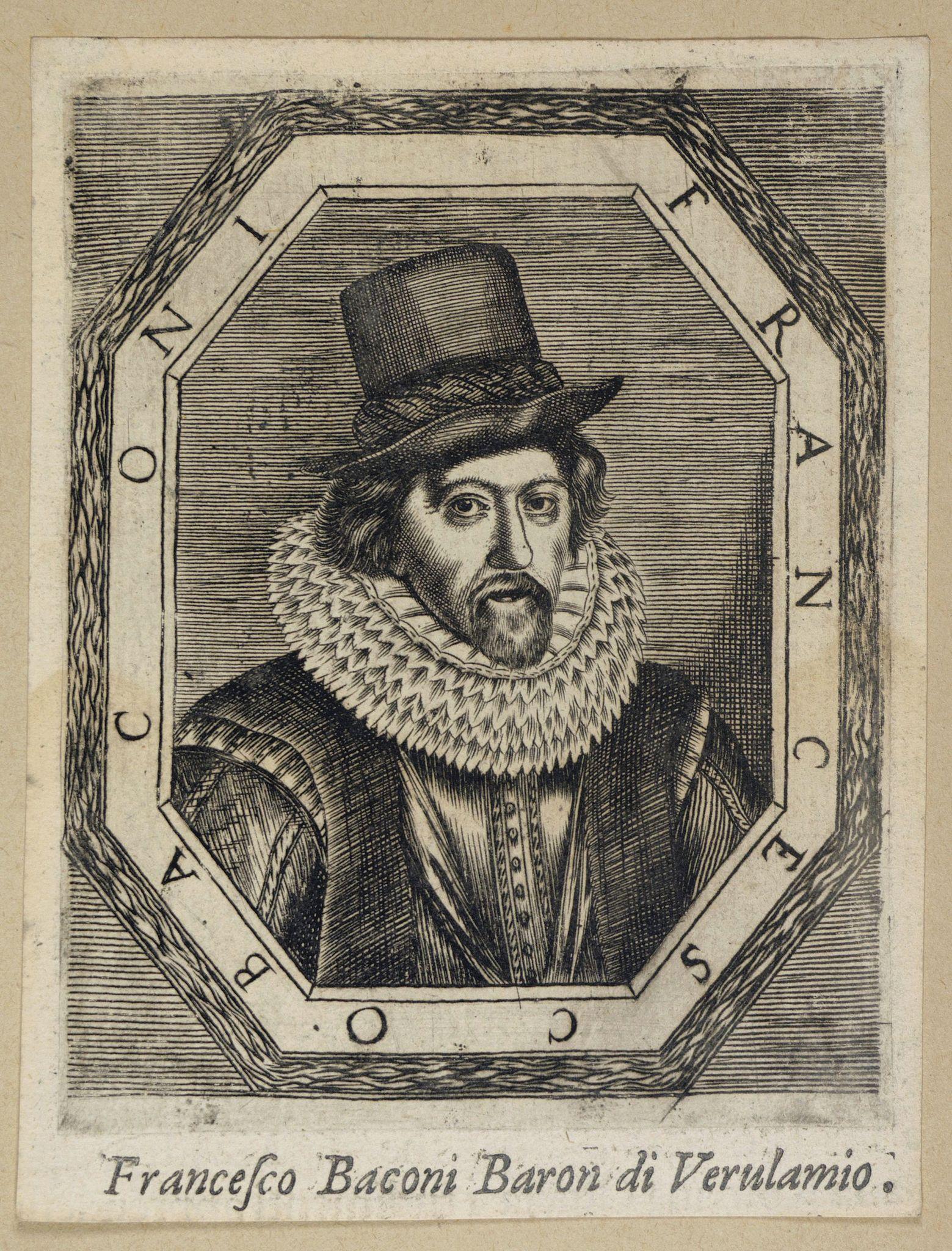 ANONYMOUS -  Francesco Baconi Baron di Verulamio.