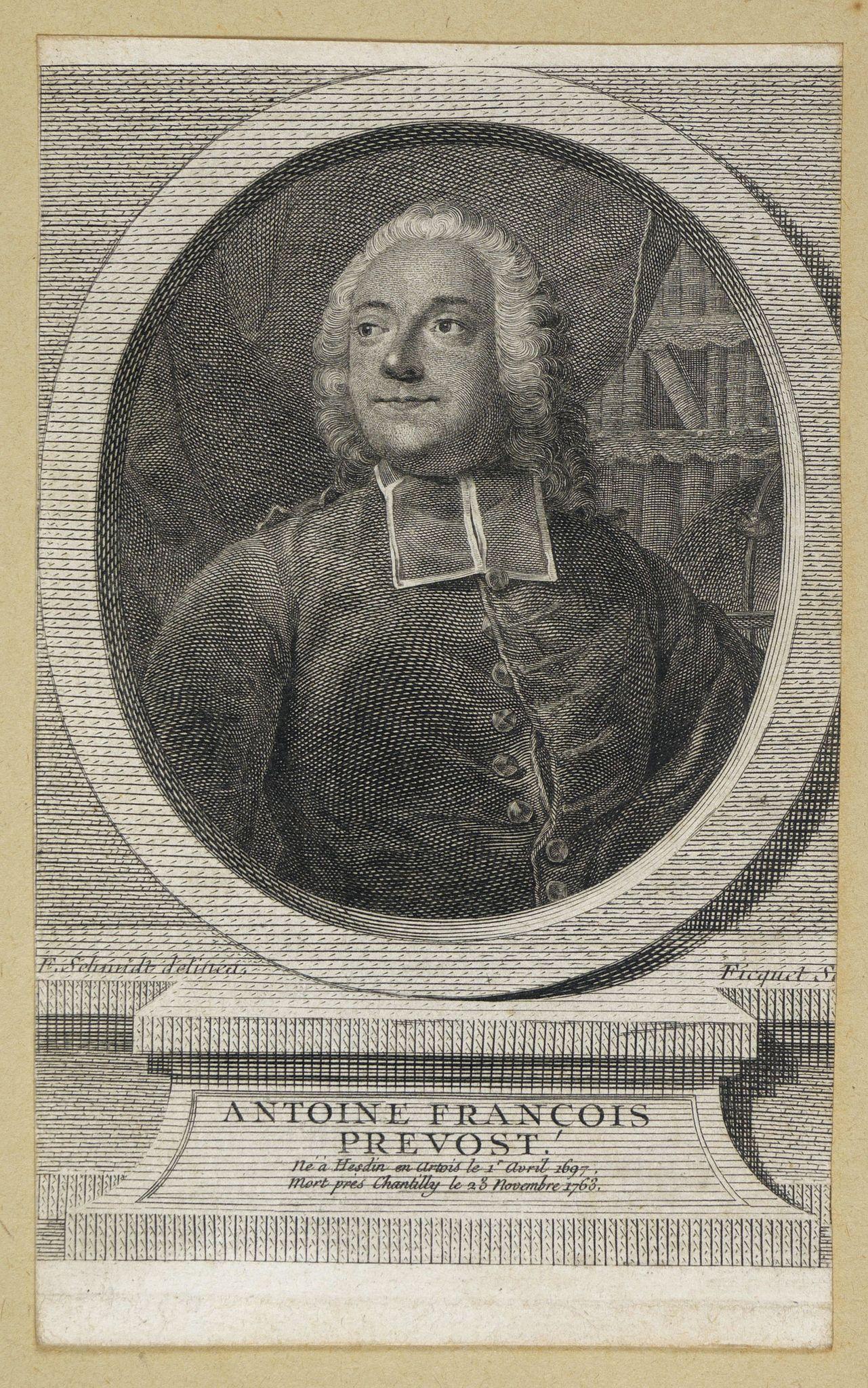 FICQUET -  Antoine François Prevost . . .