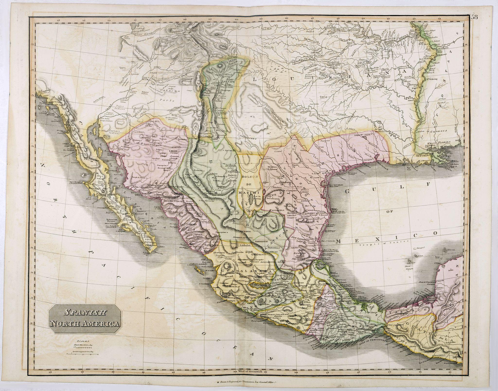 THOMSON, J. -  Spanish North America.