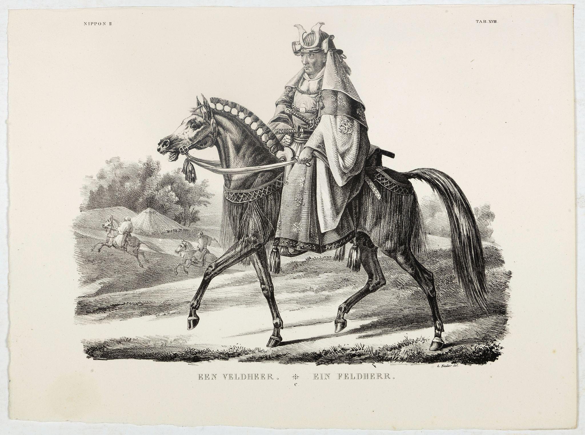 VON SIEBOLD, P.Fr.B. -  Een Veldheer.