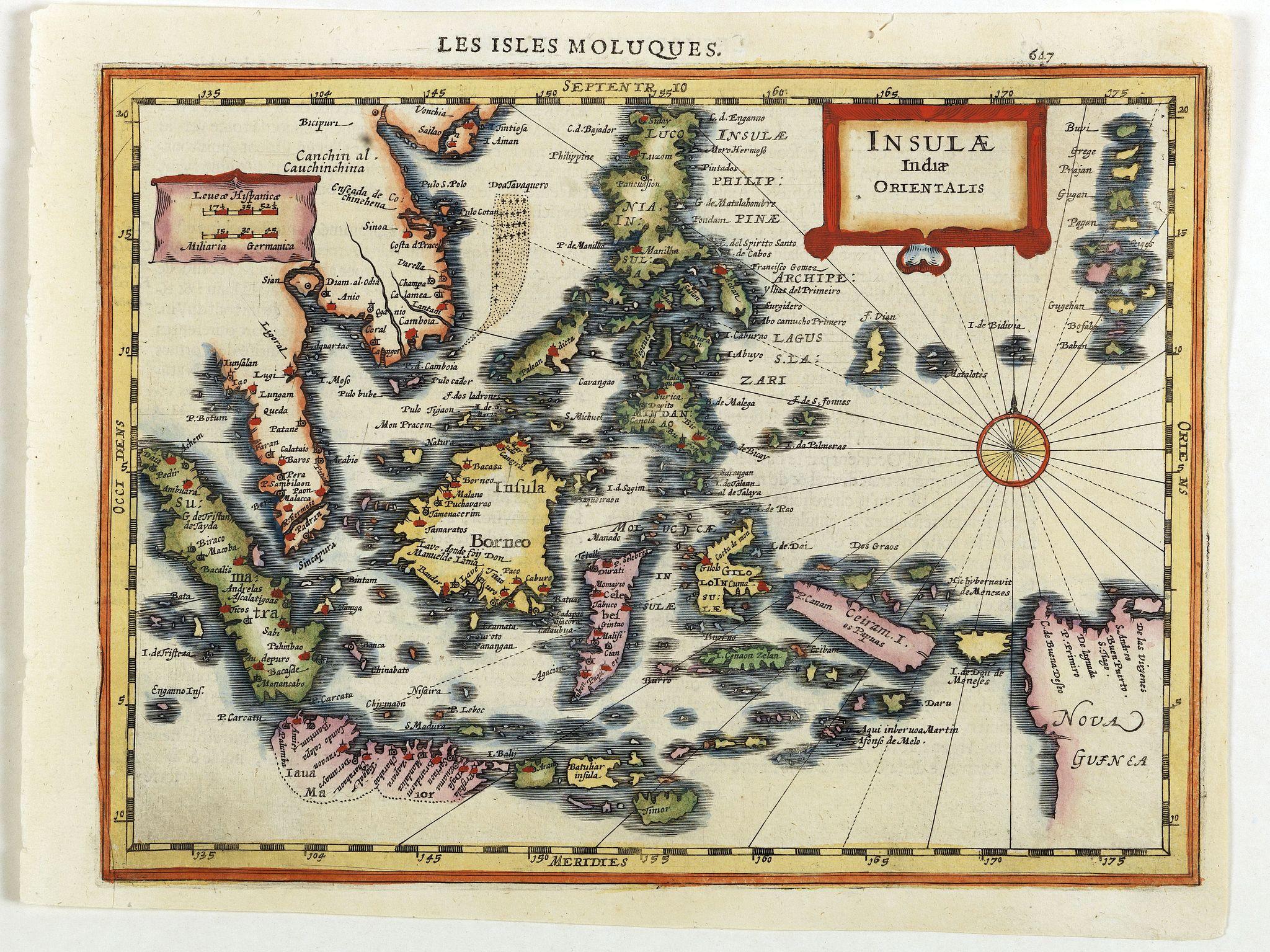 MERCATOR, G. / CLOPPENBURGH, J.E. -  Insulae Indiae Orientalis.