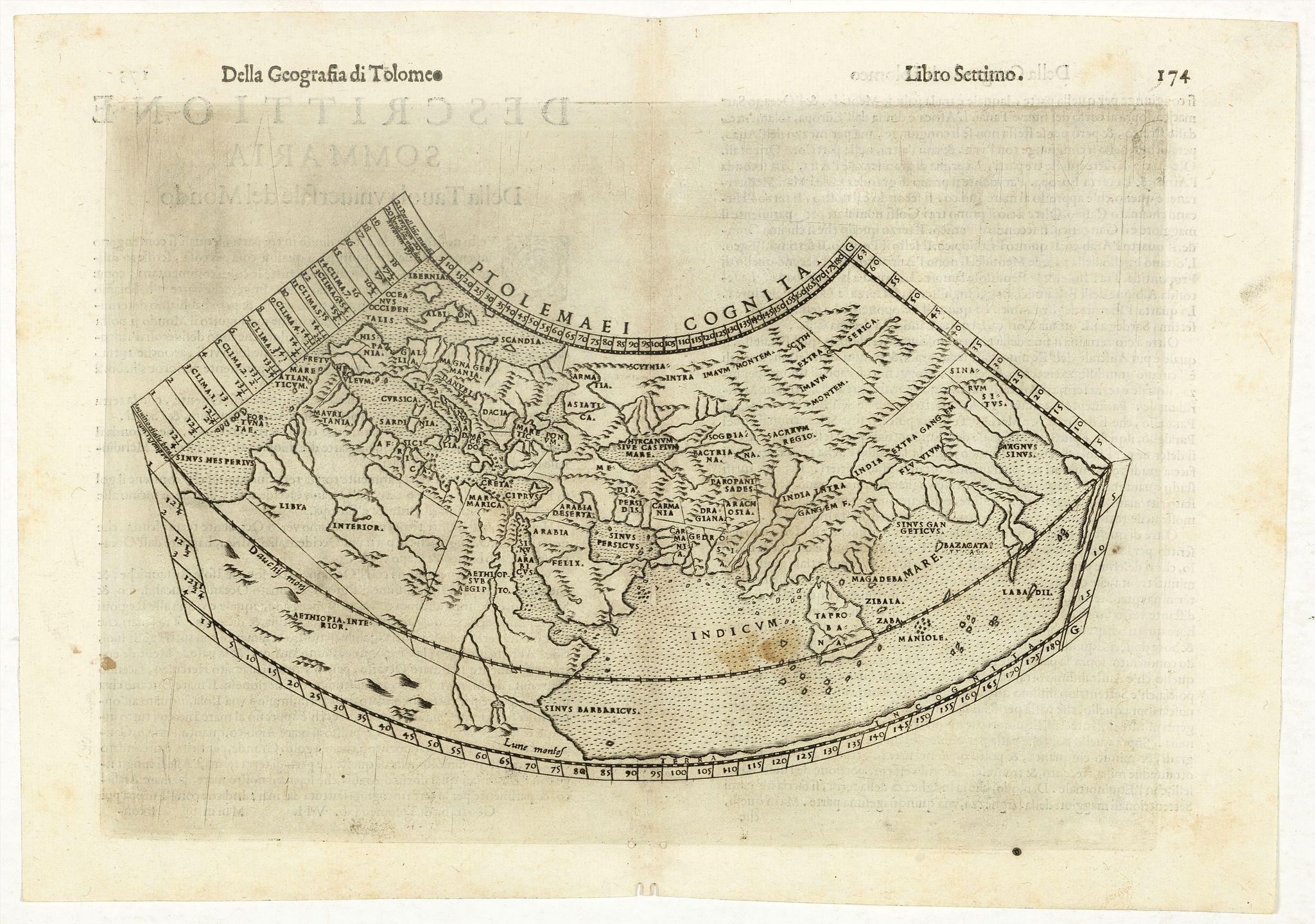 RUSCELLI, G. -  Ptolemaei Cognita.