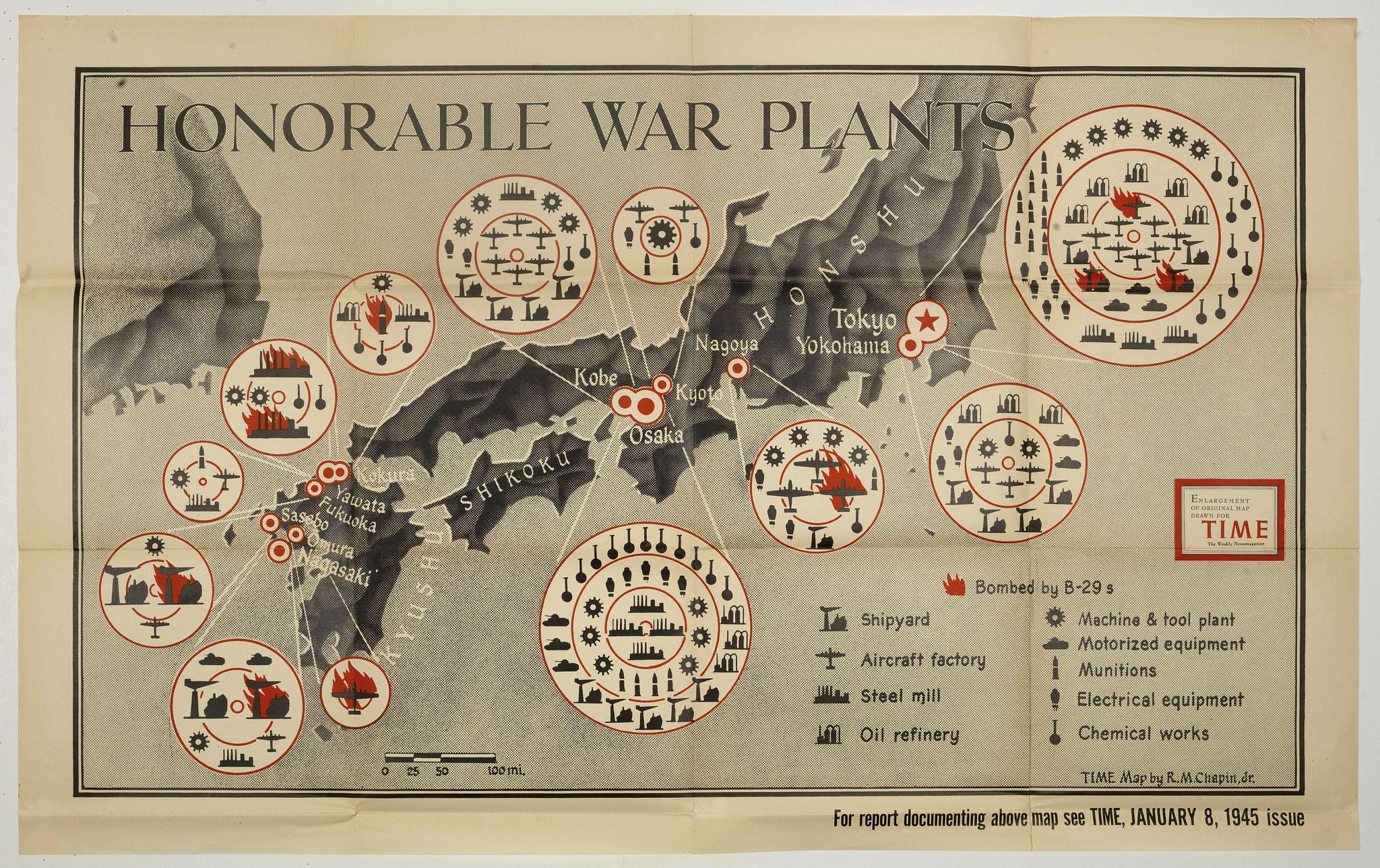 CHAPIN, R. M. Jr. -  Honorable War Plants [in Japan]