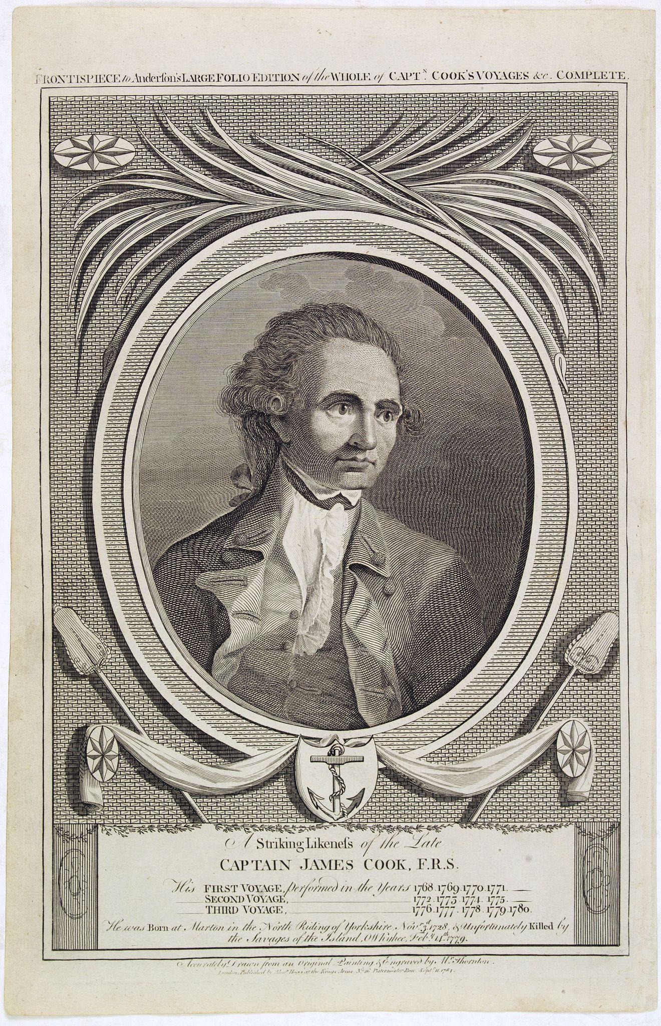 JENTZEN, F. -  Captain James Cook.