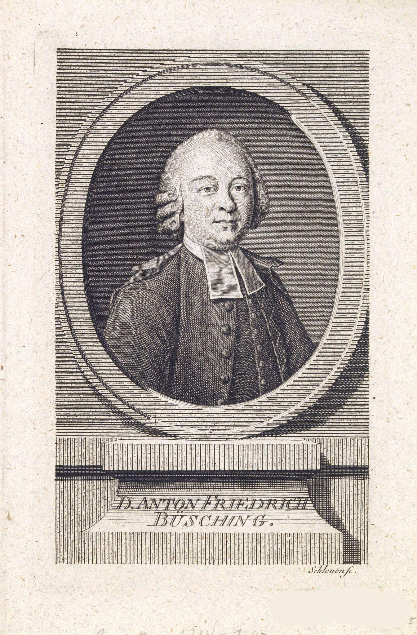 SCHLEUEN, J.D. -  Danton Fridrich Büsching.