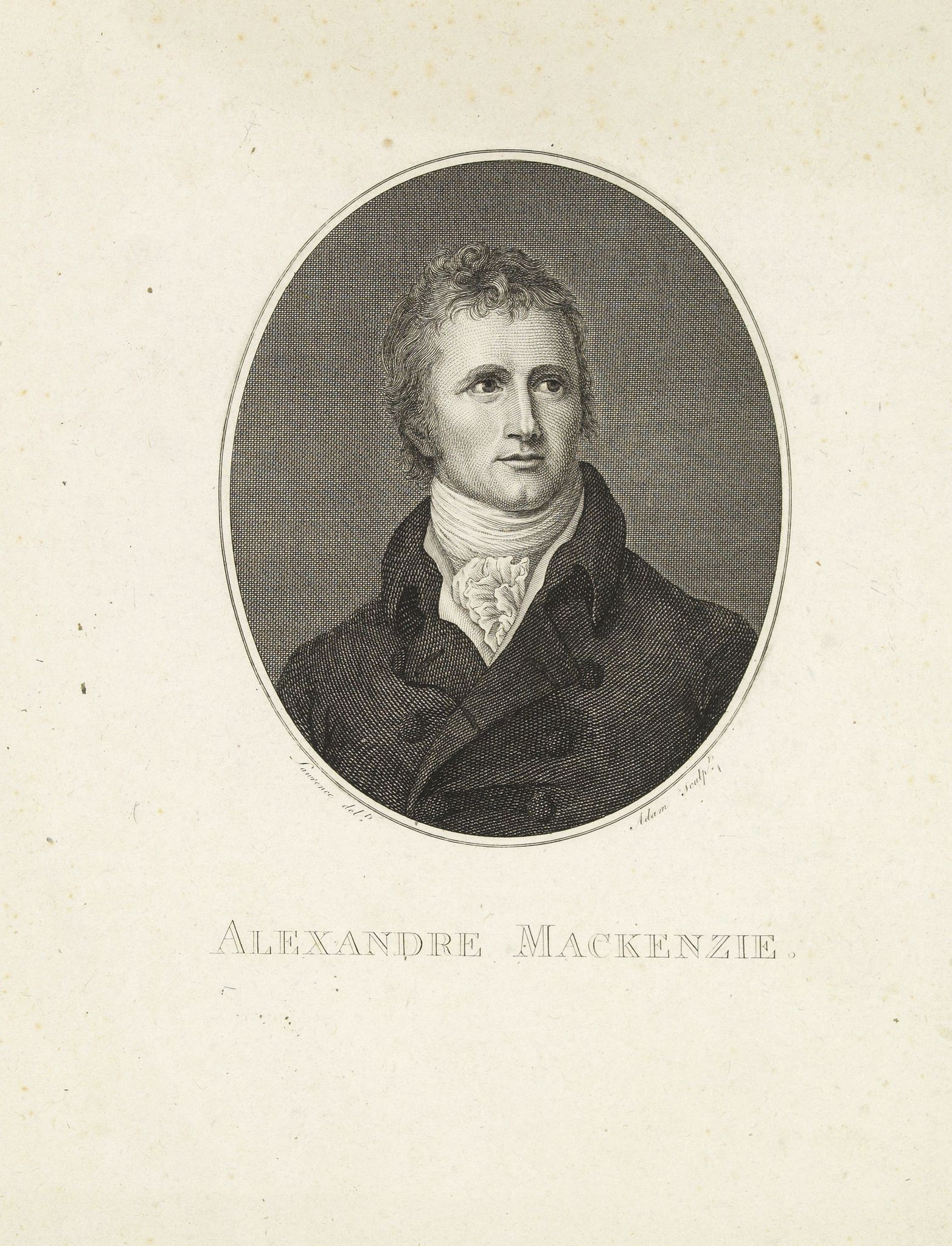 ADAM. -  Alexandre Mackenzie.