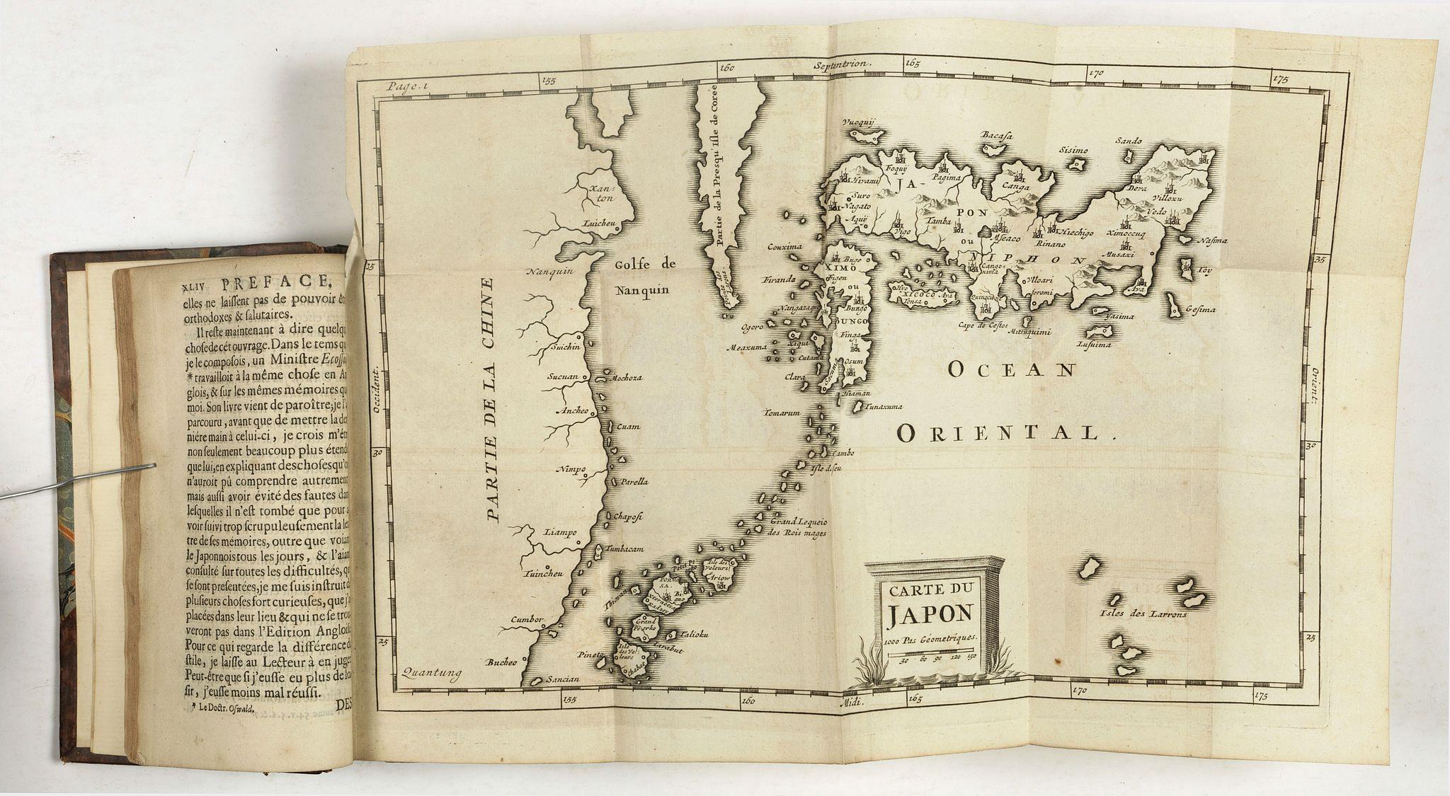PSALMANAZAR, G. -  Description de l'Isle Formosa en Asie, du gouvernement..