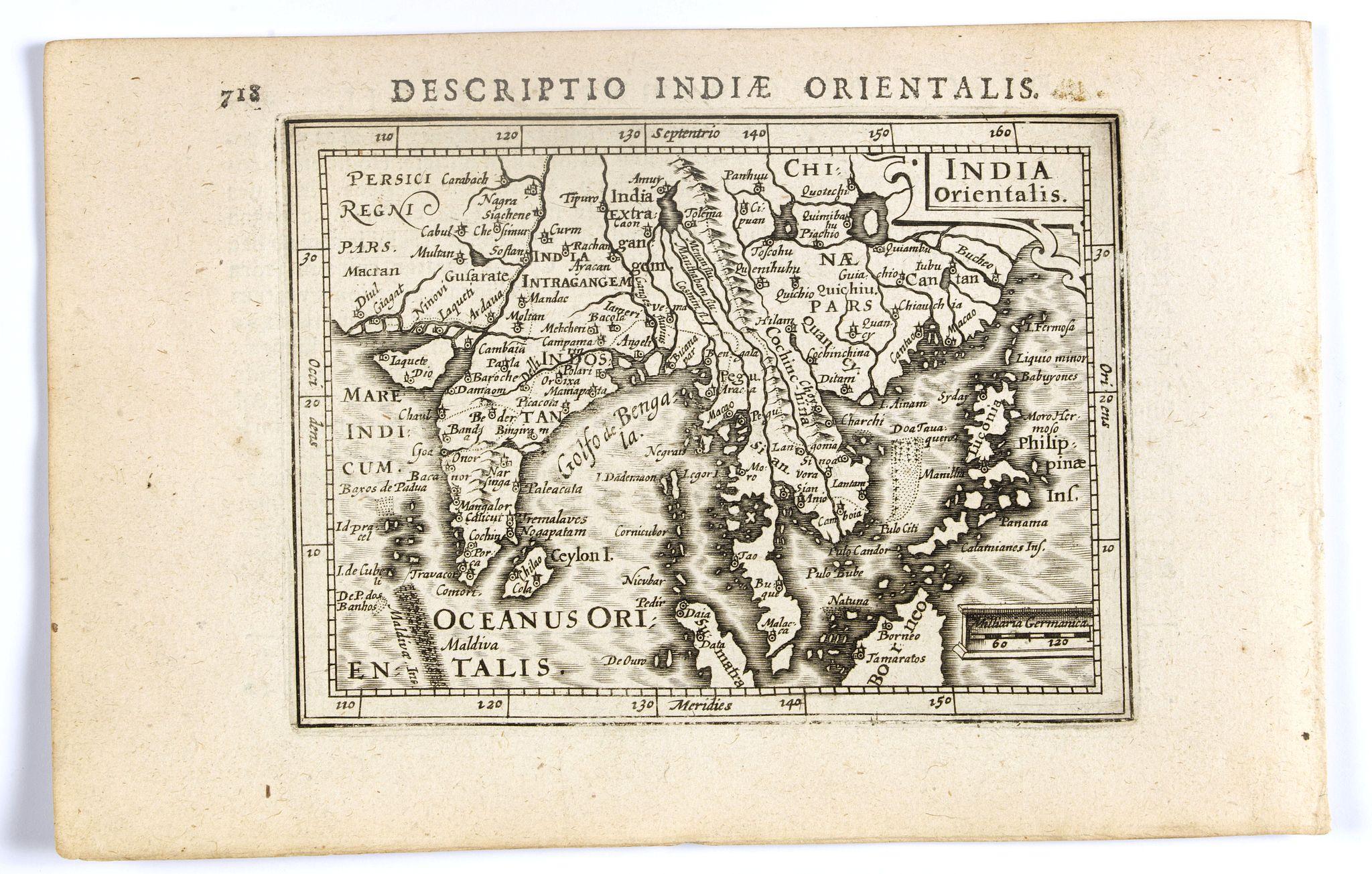 BERTIUS, P. / HONDIUS, J. II -  India Orientalis.