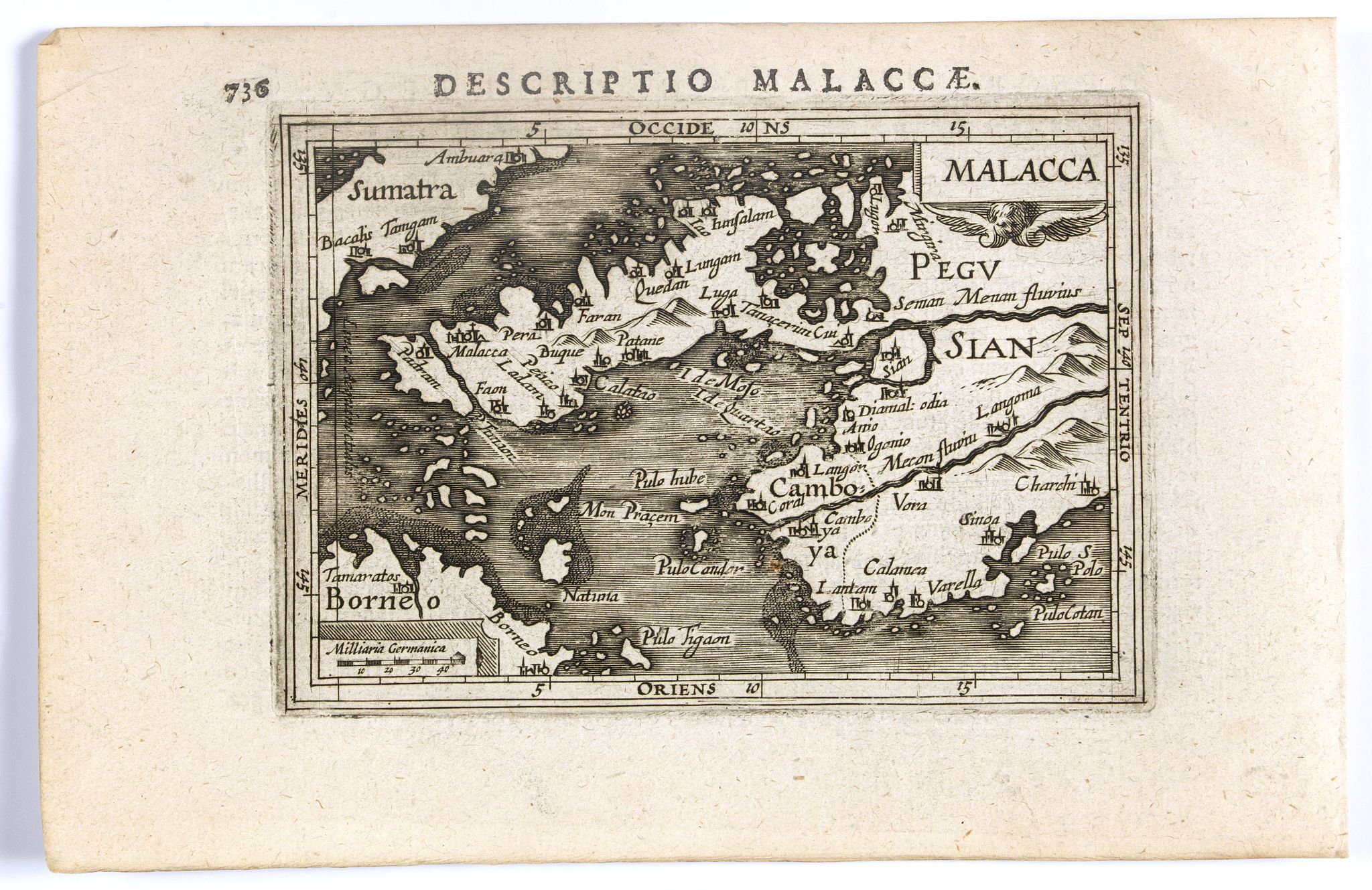 BERTIUS, P. / HONDIUS, J. II -  Malacca.