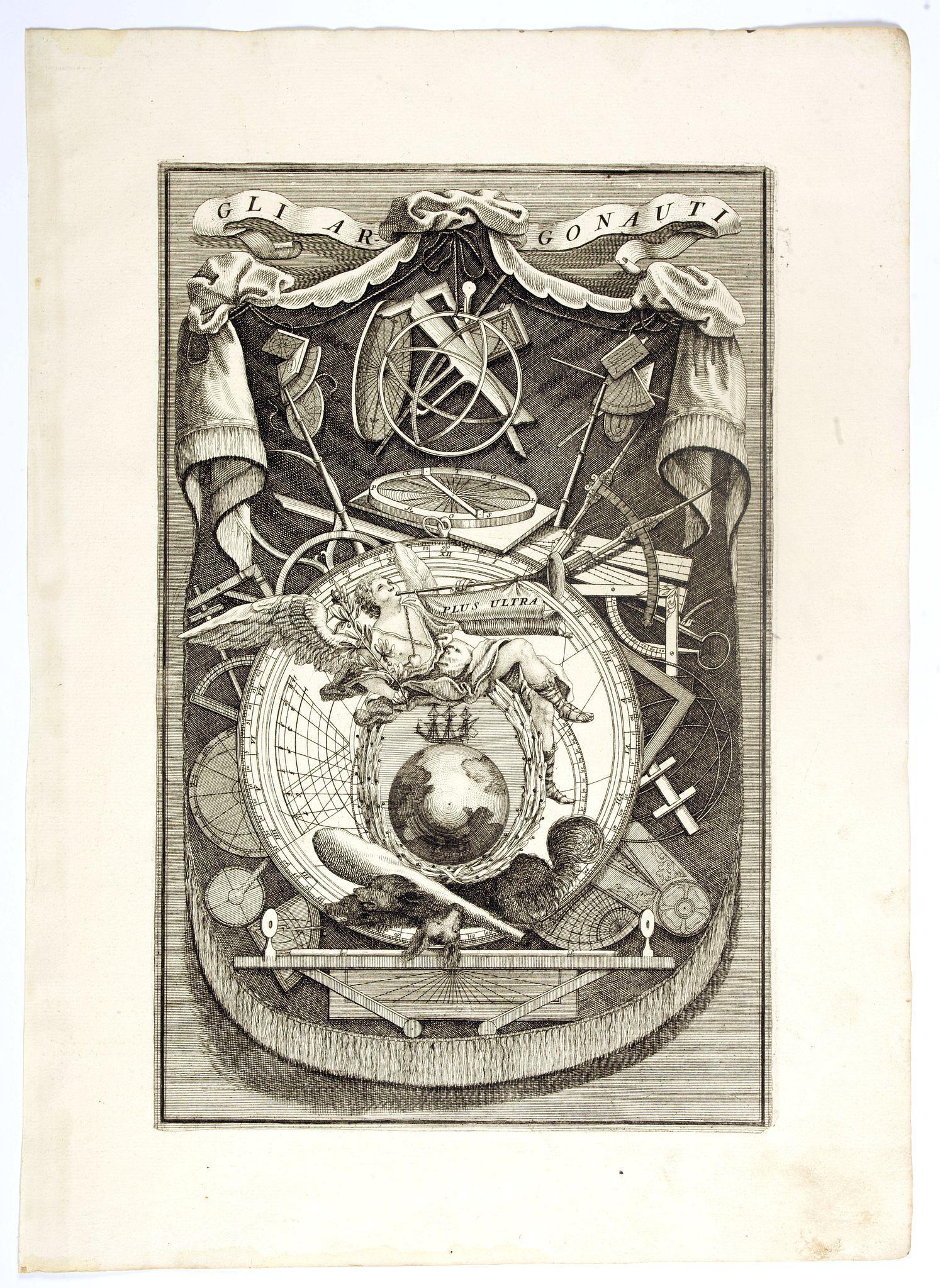 CORONELLI, V. M. -   [Title page] Gli Argonauti.