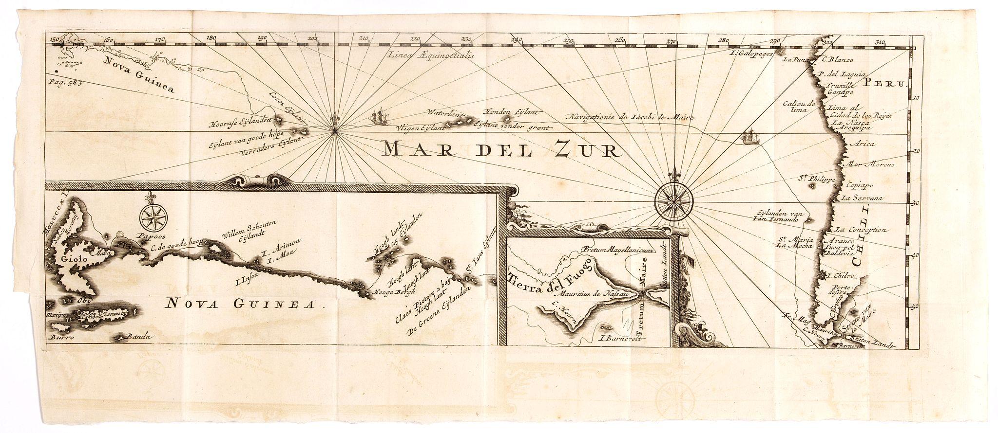 DE RENNEVILLE, R.A.C. - Mar del Zur / Nova Guinea / Terra del Fuogo.