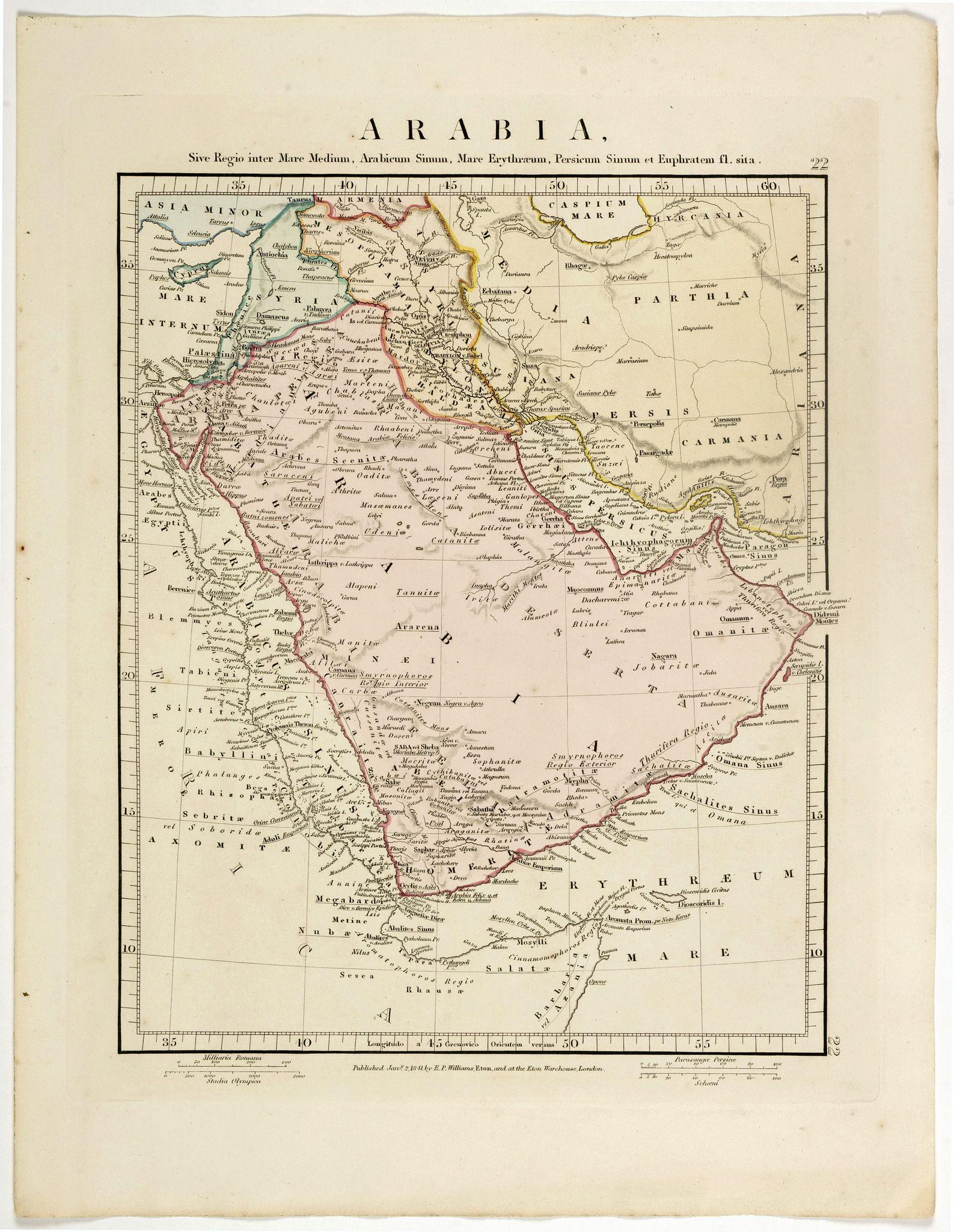 ARROWSMITH, John -  Arabia.