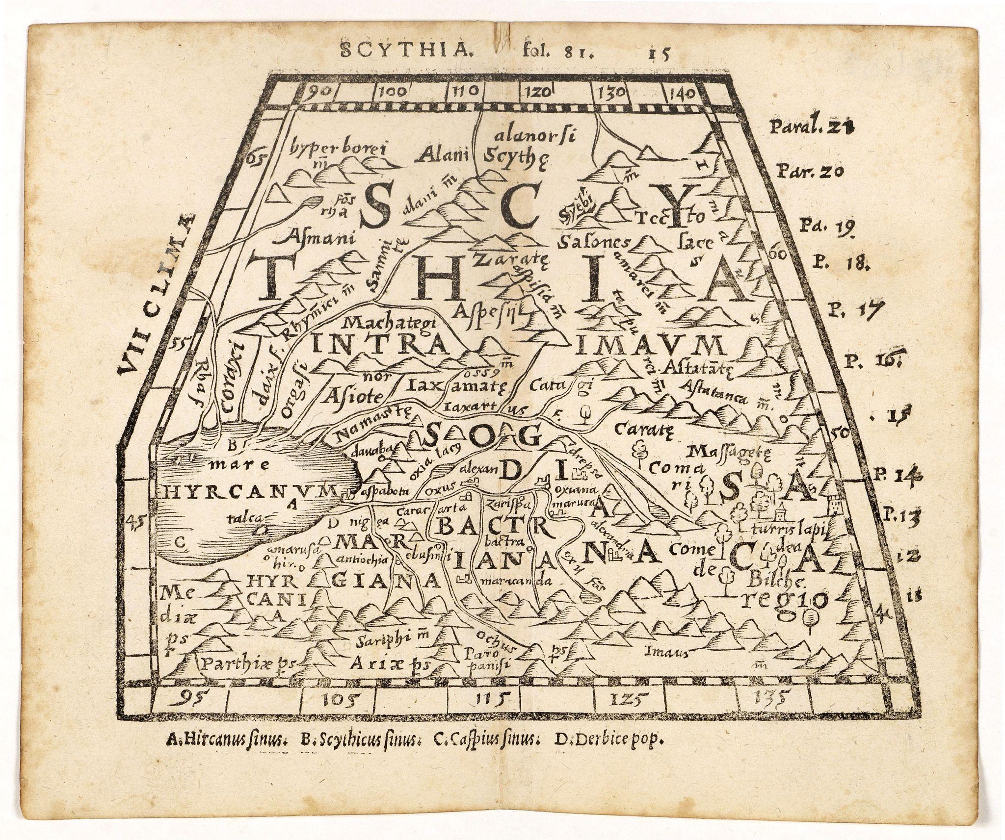 HONTER, J. -  Scythia.