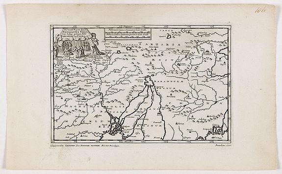 VANDER AA, P. -  De Land-Reyse, door Benedictus Goes, van Lahor gedaan, door Tartaryen na China.
