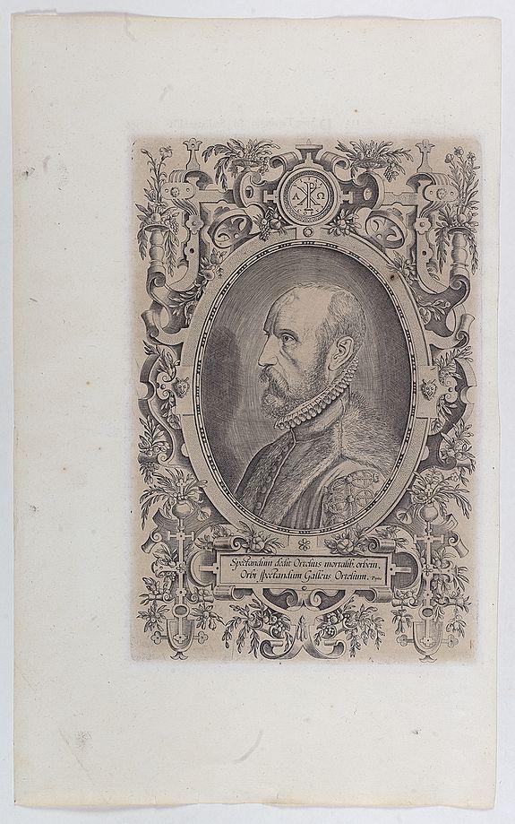 ORTELIUS, A. -  Spectandum dedit Ortelius mortalib..