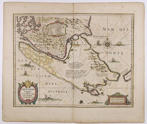 HONDIUS, H. -  Freti Magellanici ac novi Freti vulgo Le Maire. . .