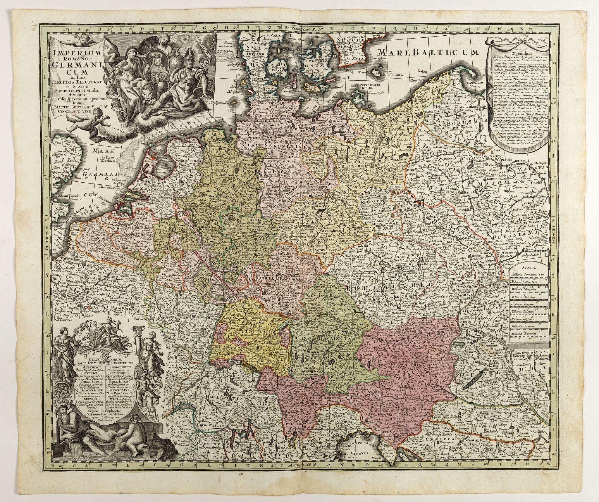 SEUTTER, M. - Imperium Romano Germanicum . . .