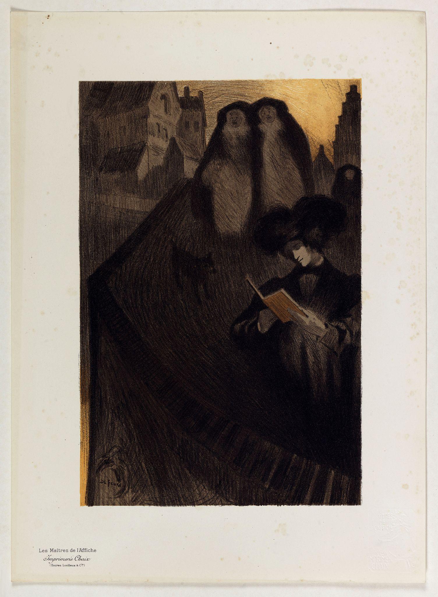 DE FEURE, G. -  Untitled by De Feure Georges.