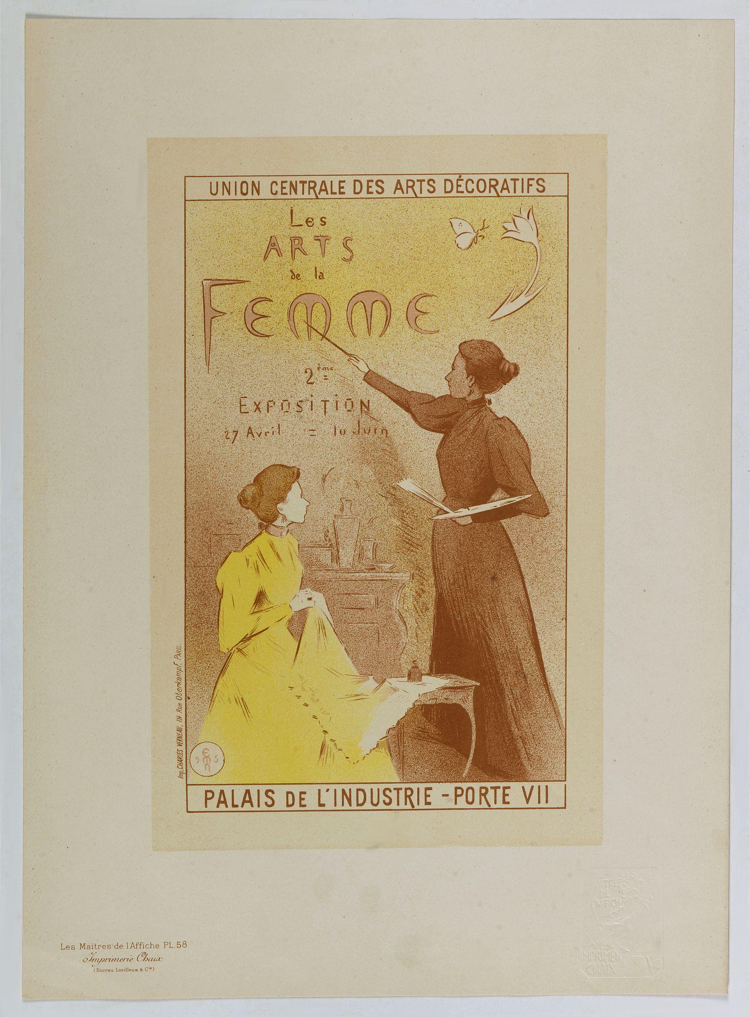MOREAU, E. -  Les Arts de la Femme . . .