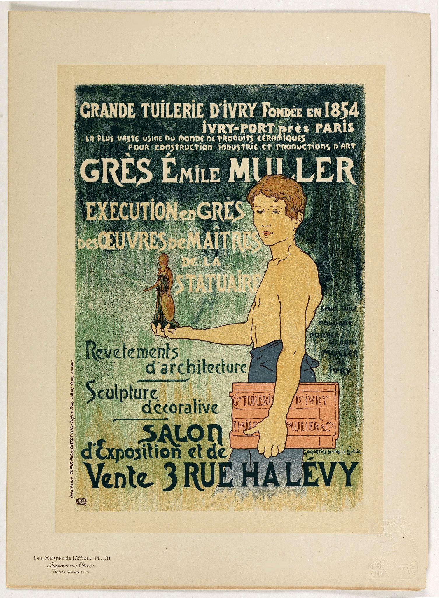 CHARPENTIER, A. -  Grès Emile Muller . . .