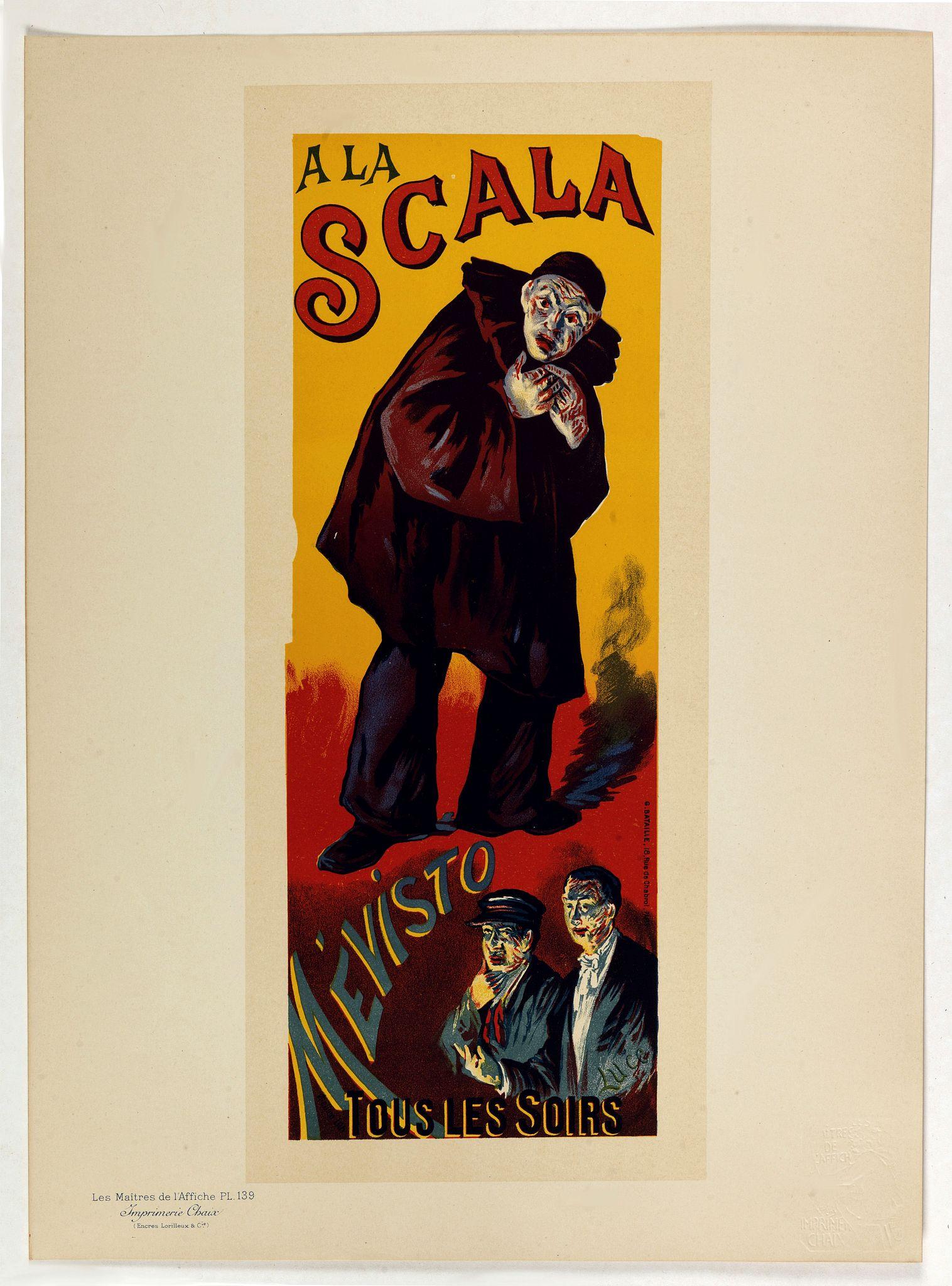 LUCE, M. -  A la Scala, Mevisto.