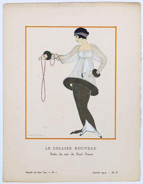 LE PAPE, G. -  Le collier nouveau.