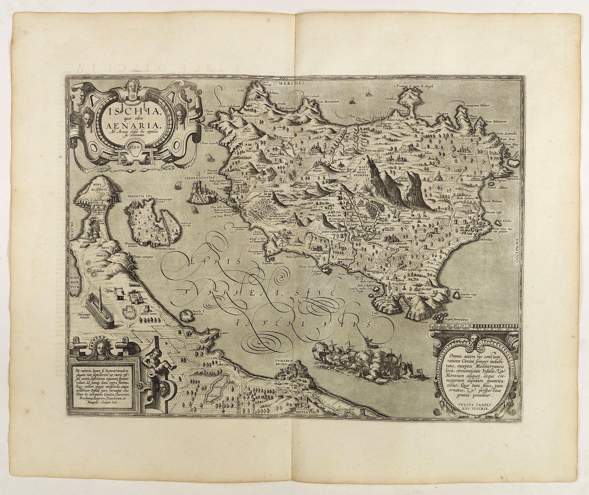 ORTELIUS, A. -  Ischia, quae olim Aenaria.