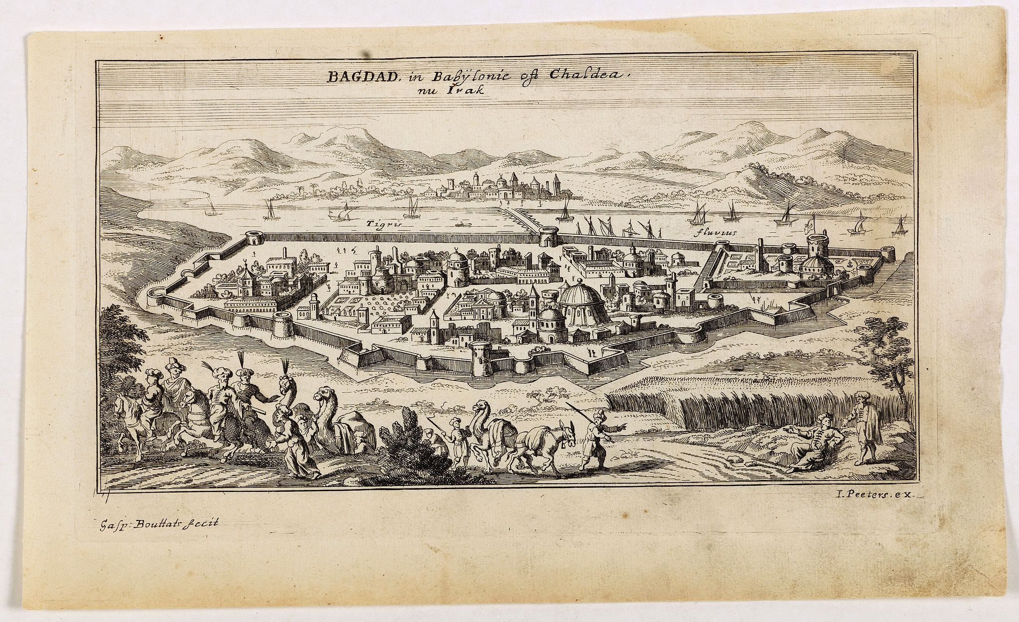 PEETERS, J. / BOUTTATS, G. -  Bagdad, in Babÿlonie of Chaldea nu Irak.