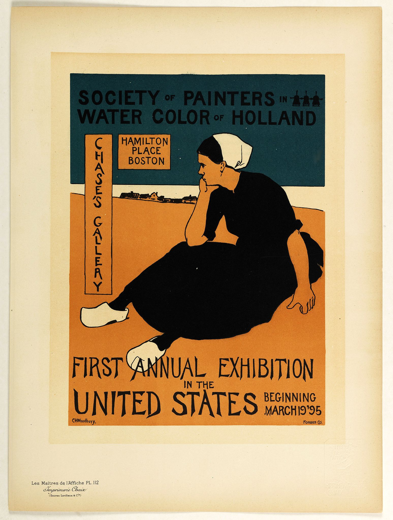 LES MAITRES DE L'AFFICHE -  First annual exhibition in the United States . . .