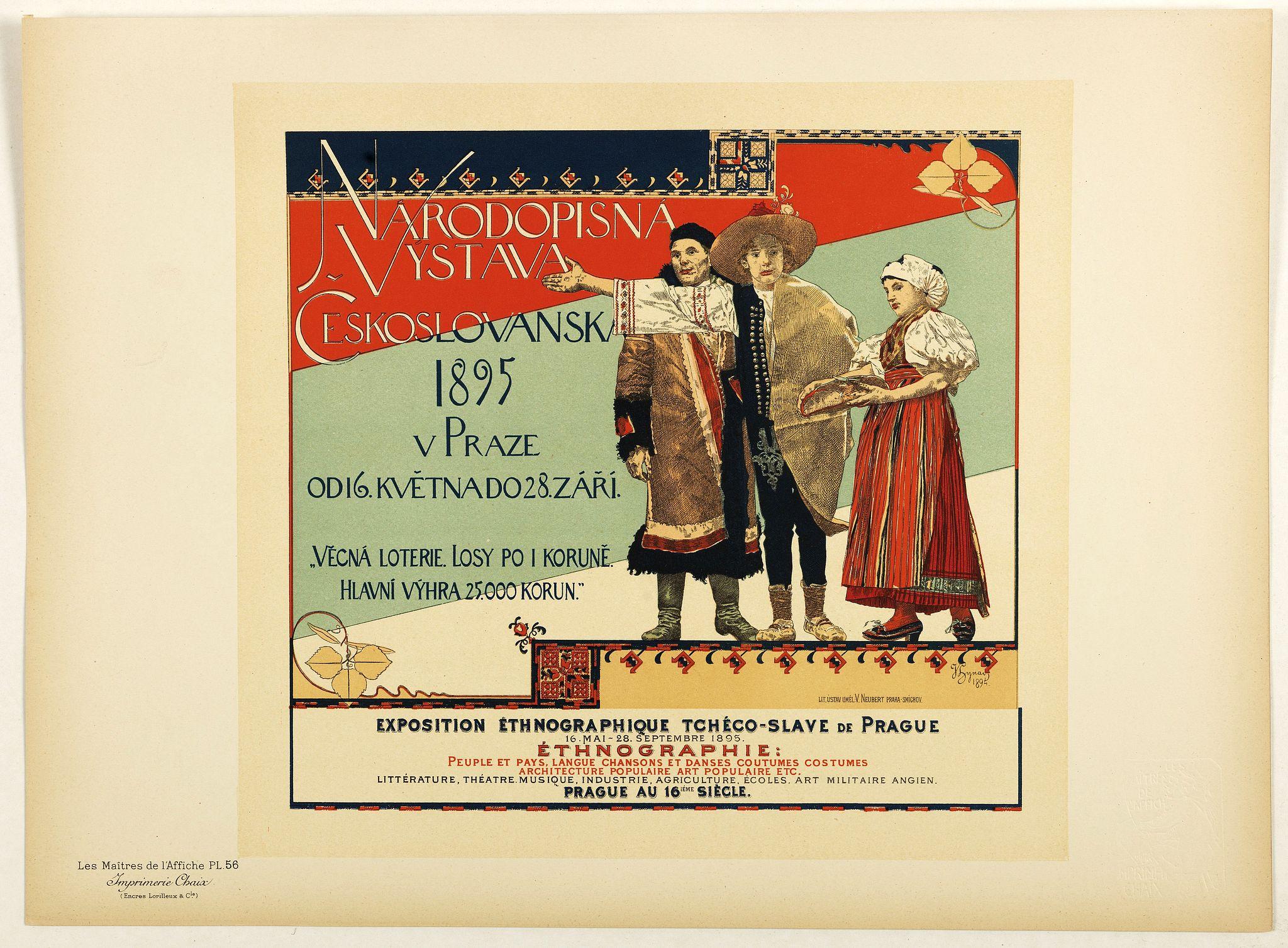 LES MAITRES DE L'AFFICHE -  Rhodopsin Vistana Czechoslovakia 1895 . . .