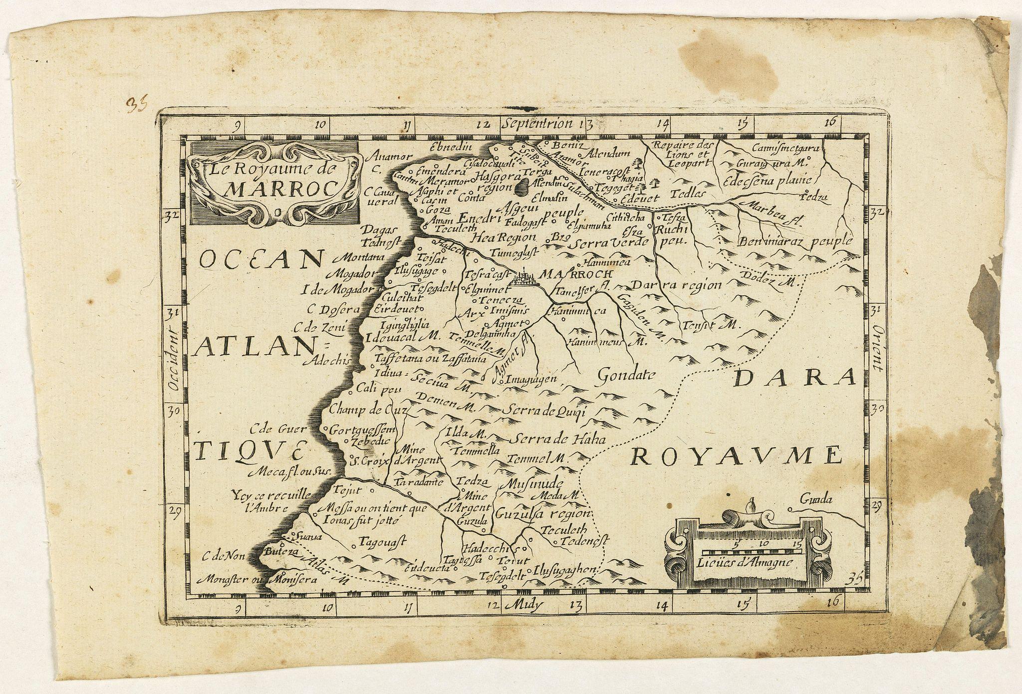 JOLLAIN, G. -  Le Royaume de Marroc.