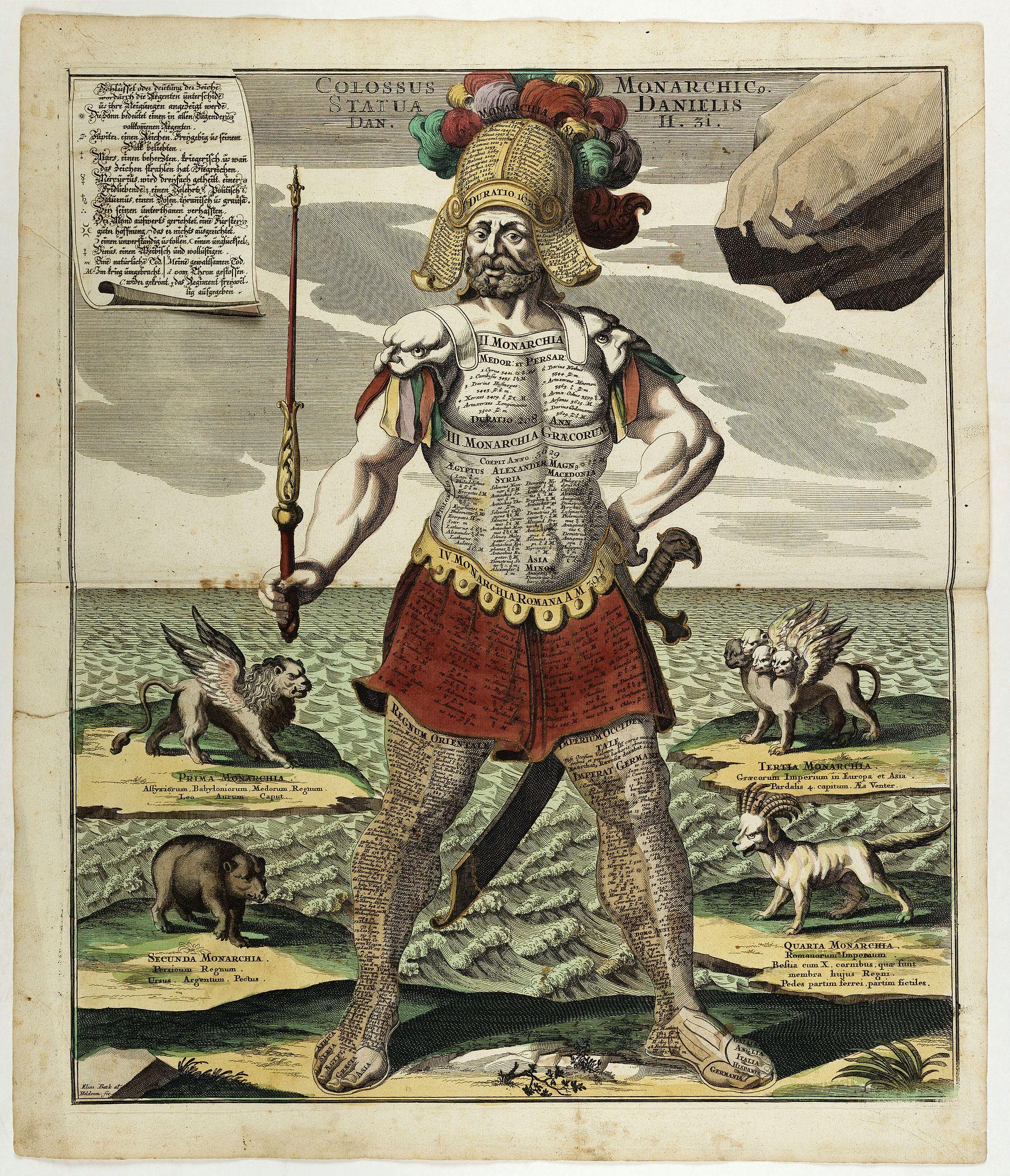 BAECK, E. -  Colossus Monarchic. Statua Danielis