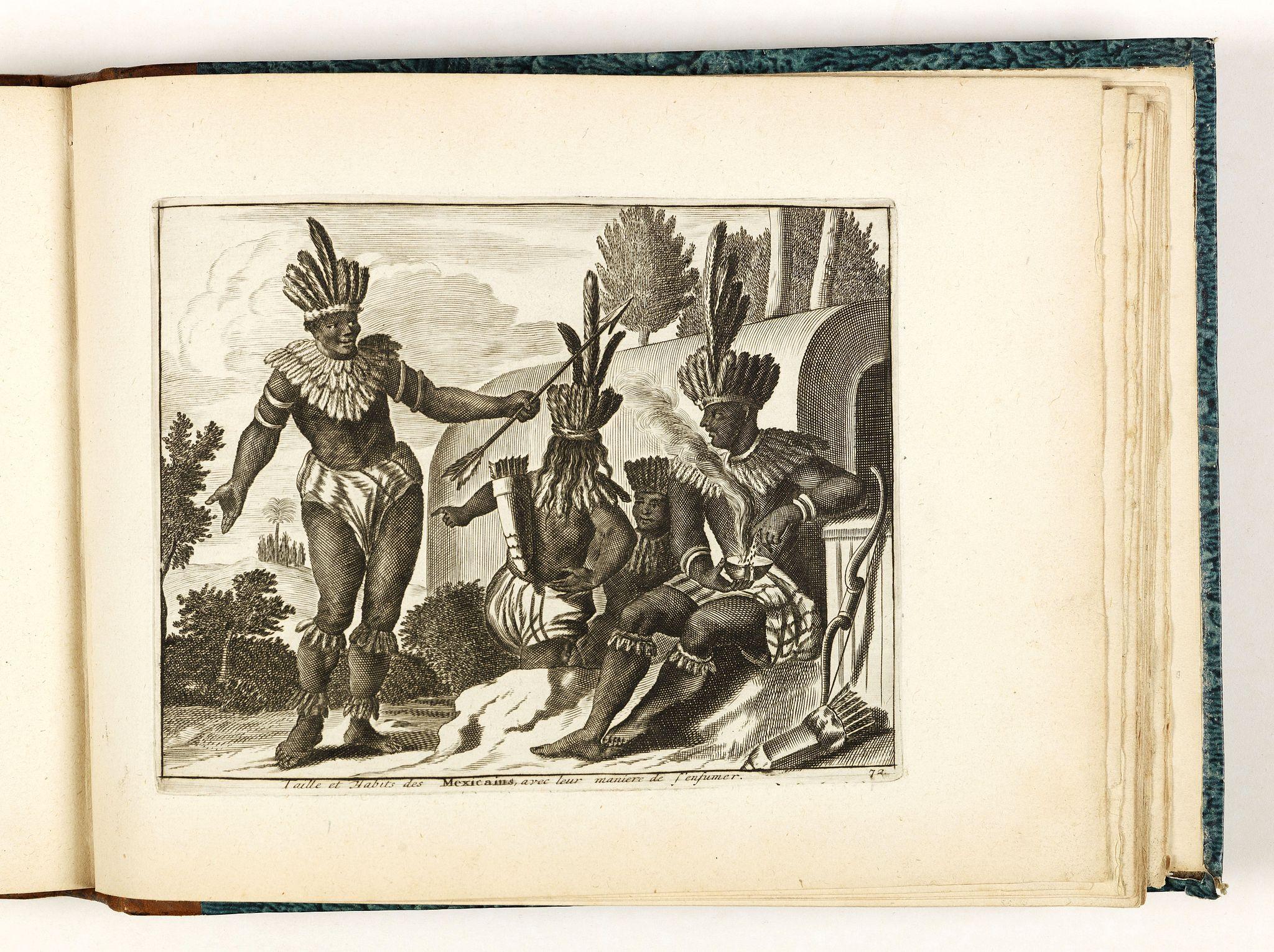 VAN DER AA, Pieter. -  Habillemens de plusieurs nations représentez au naturel, en cent trente-sept belles figures.