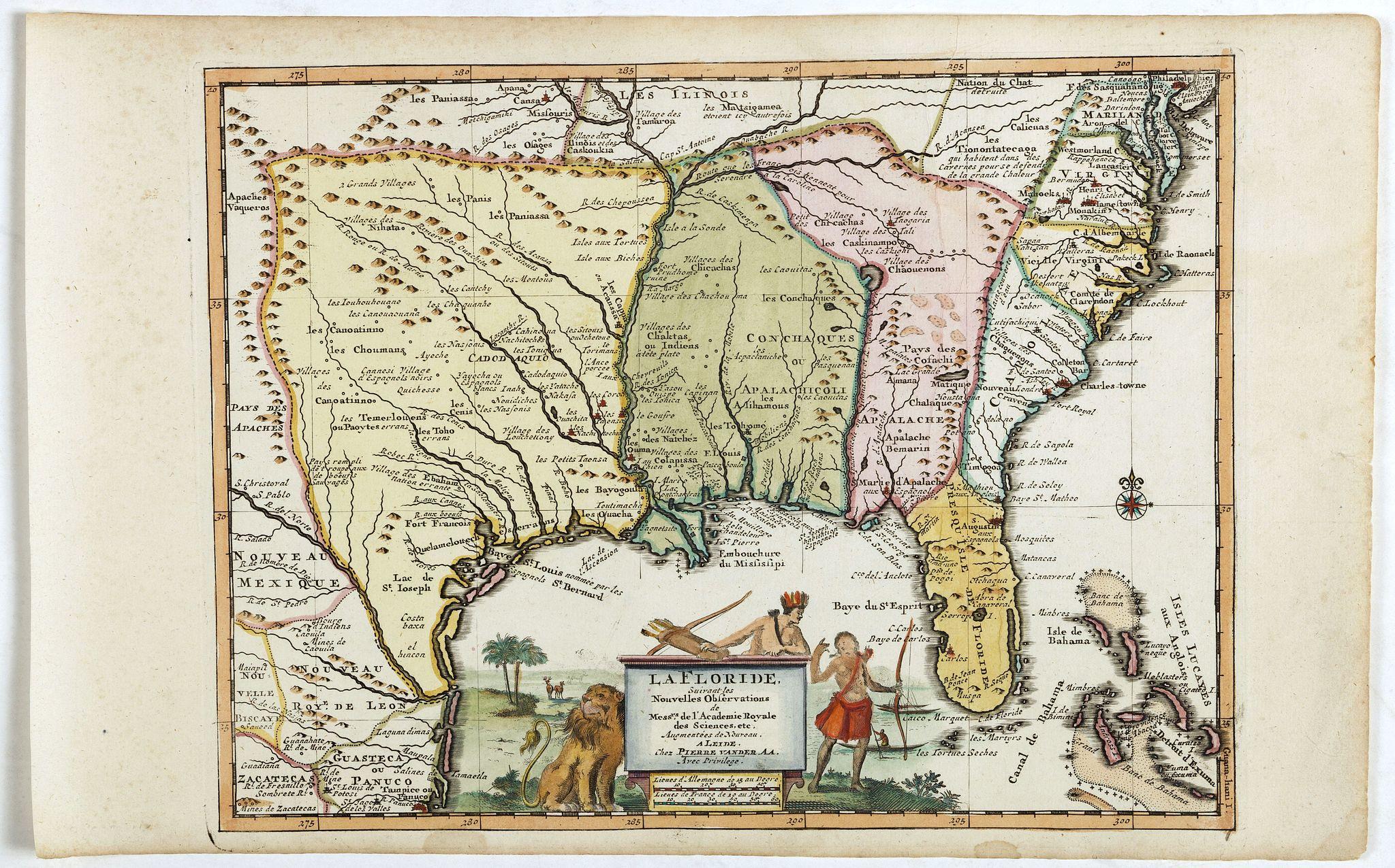 AA, P. van der -  La Floride suivant les nouvelles observations…