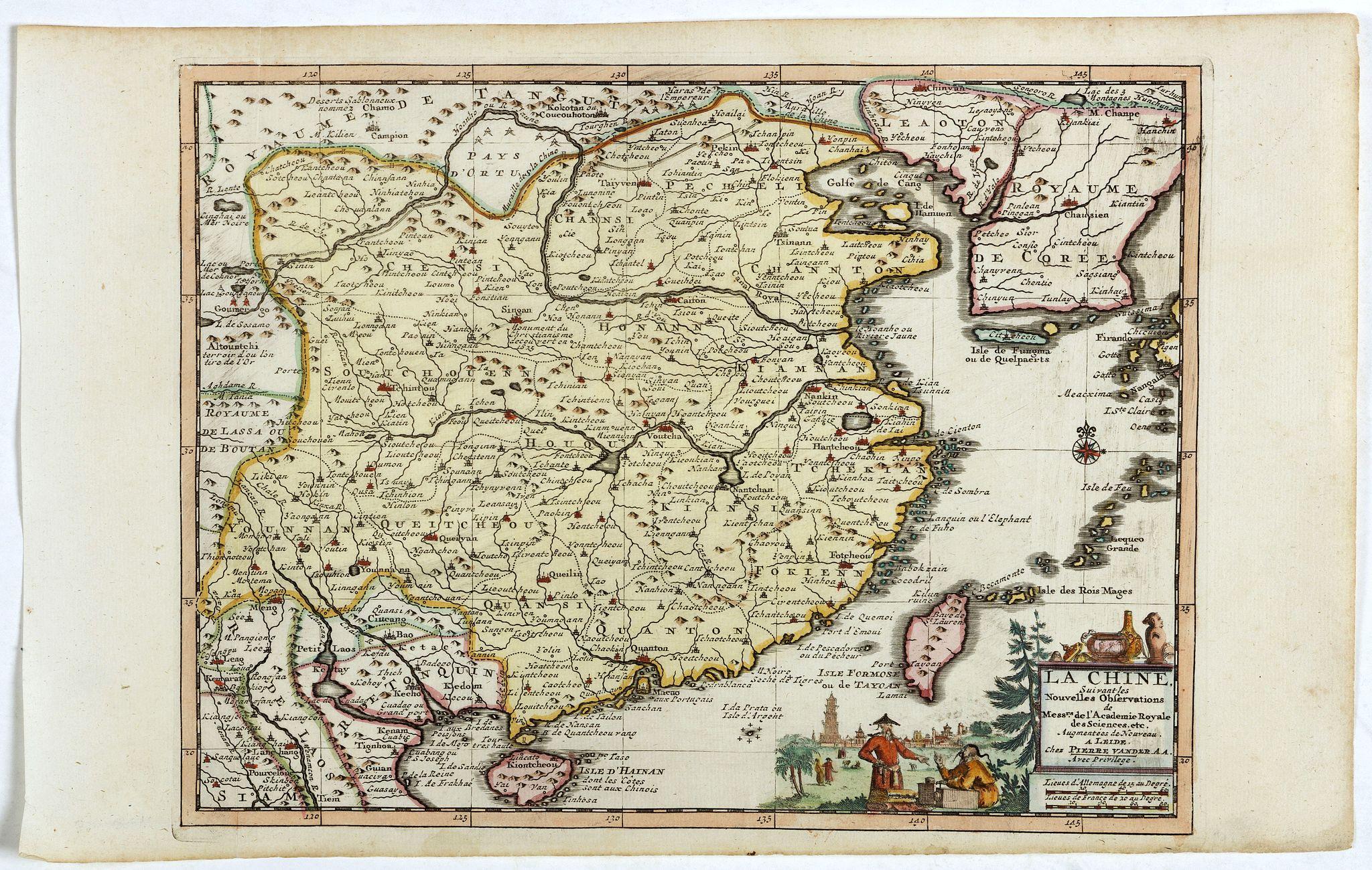 AA, P. van der -  La Chine suivant les nouvelles observations…