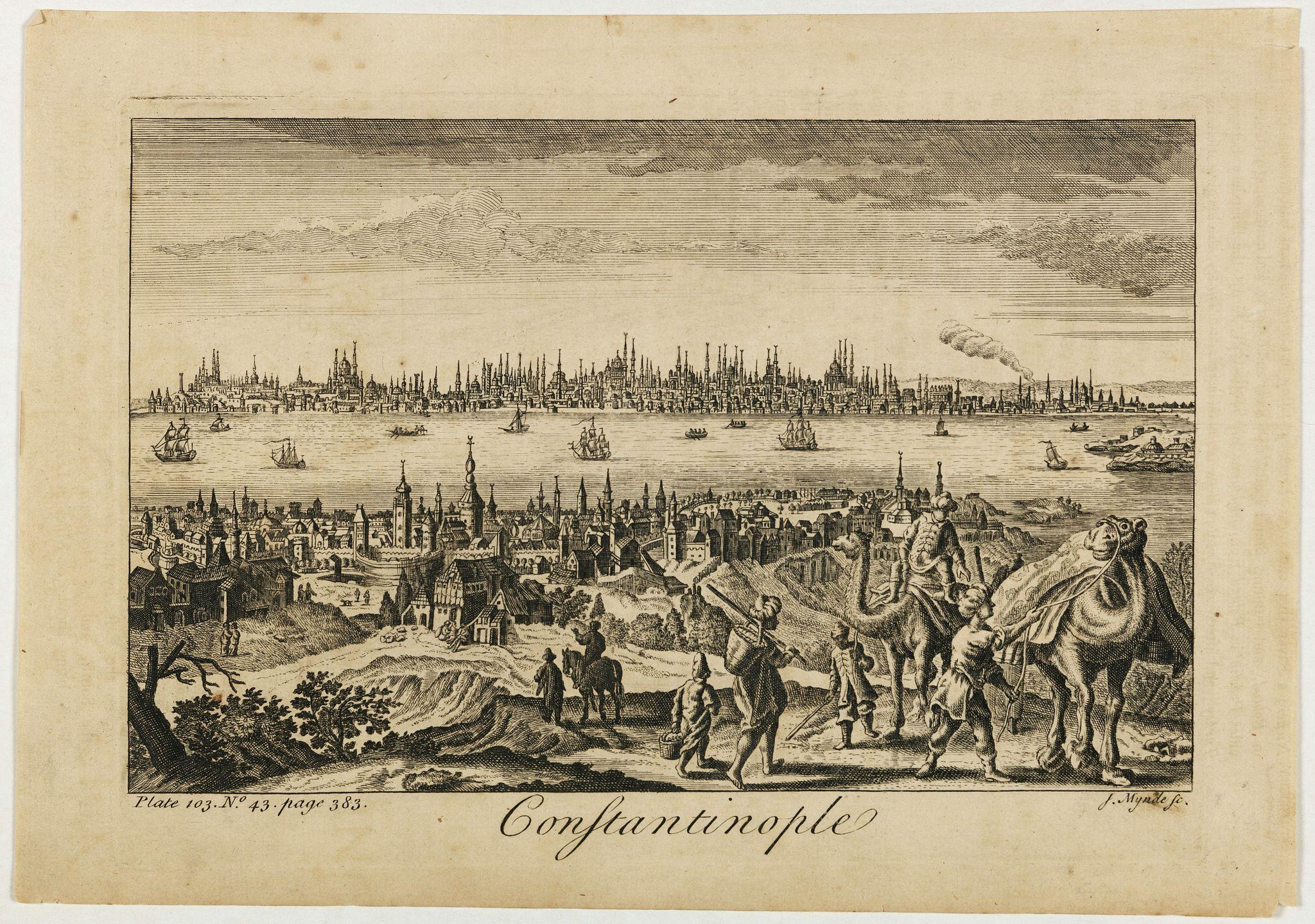 MYNDE, J. -  Constantinople.