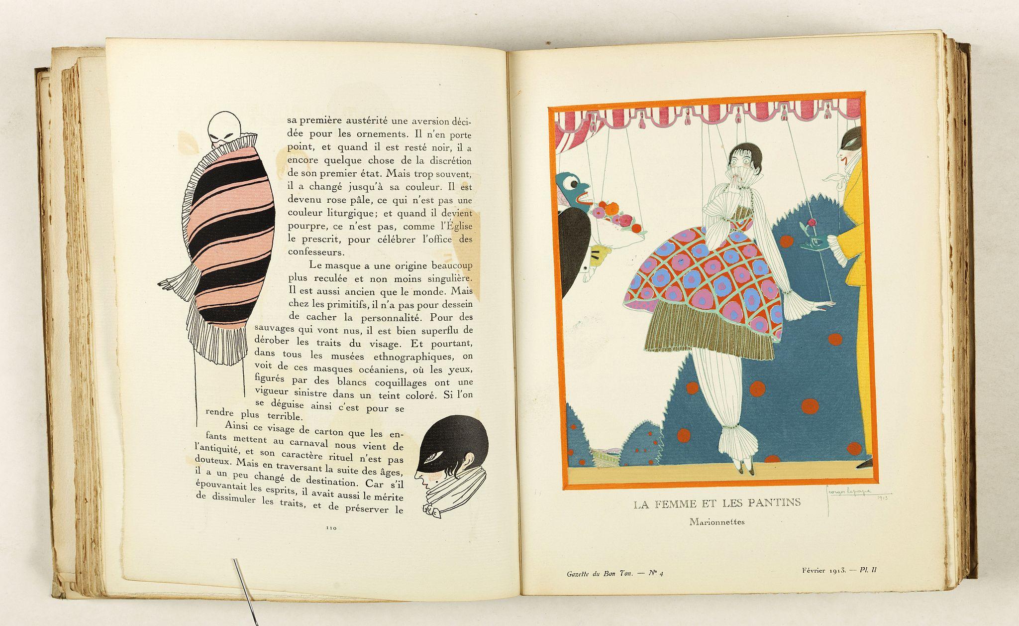 LEVY, E. / VOGEL, L. -  Gazette du Bon Ton  Art - Modes Frivolités. (1912/1913 volume)