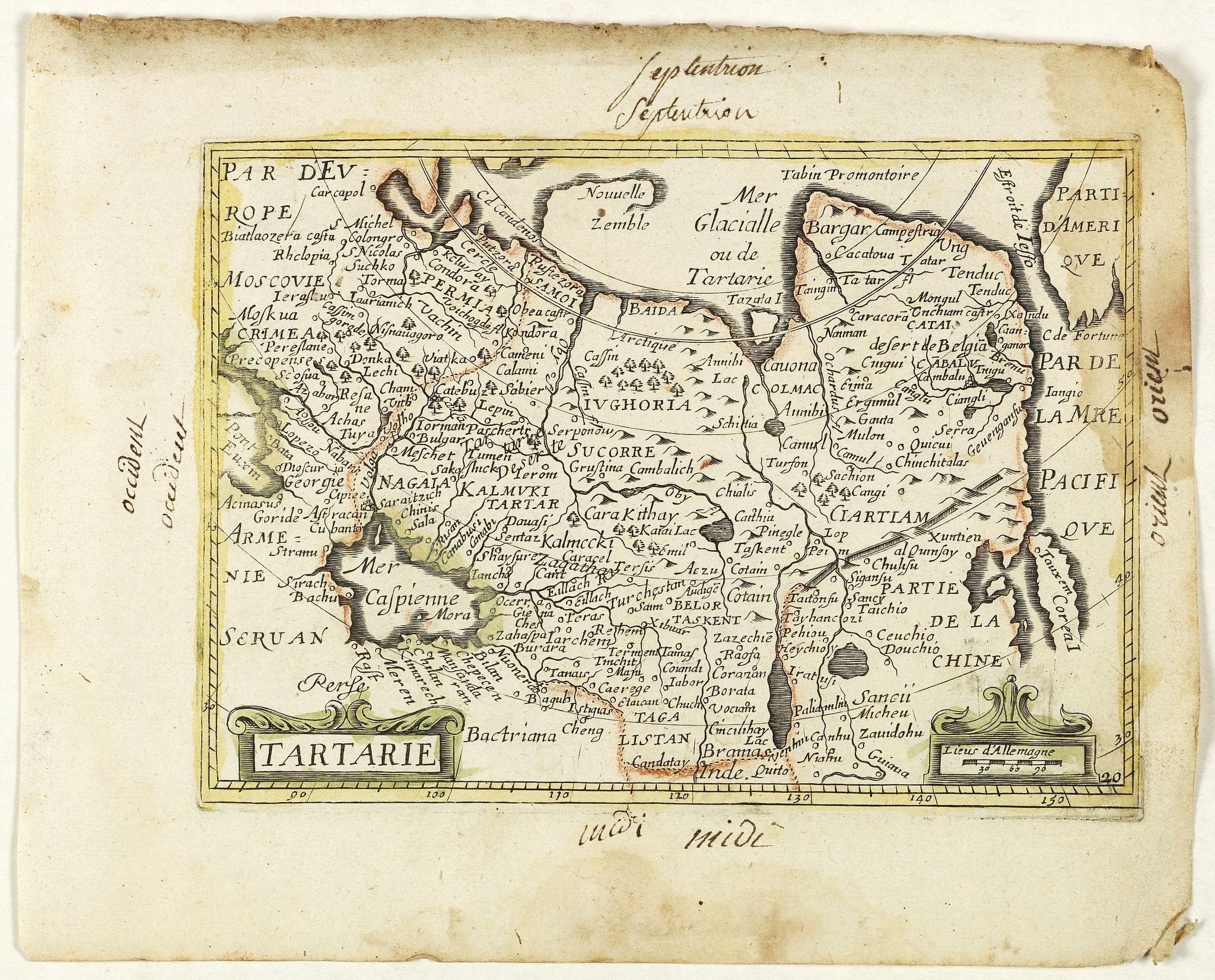 PICART, Nicolas / DUVAL, Pierre. -  Tartarie. (20).