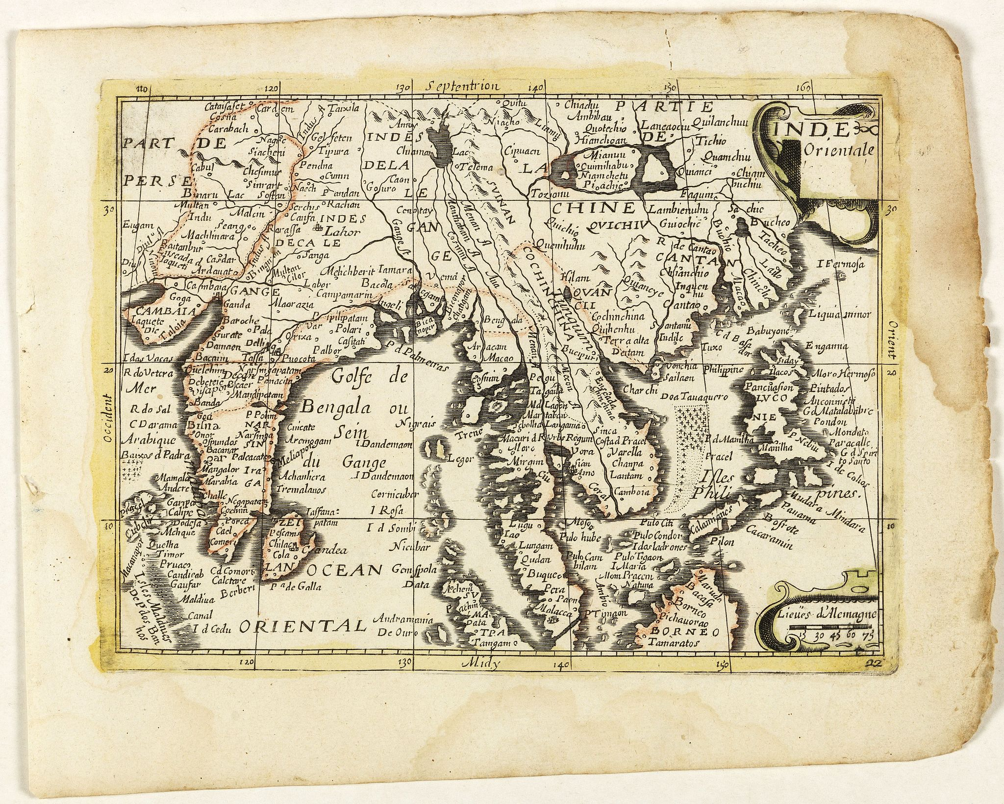 PICART, Nicolas / DUVAL, Pierre. -  Inde Orientale. (22).