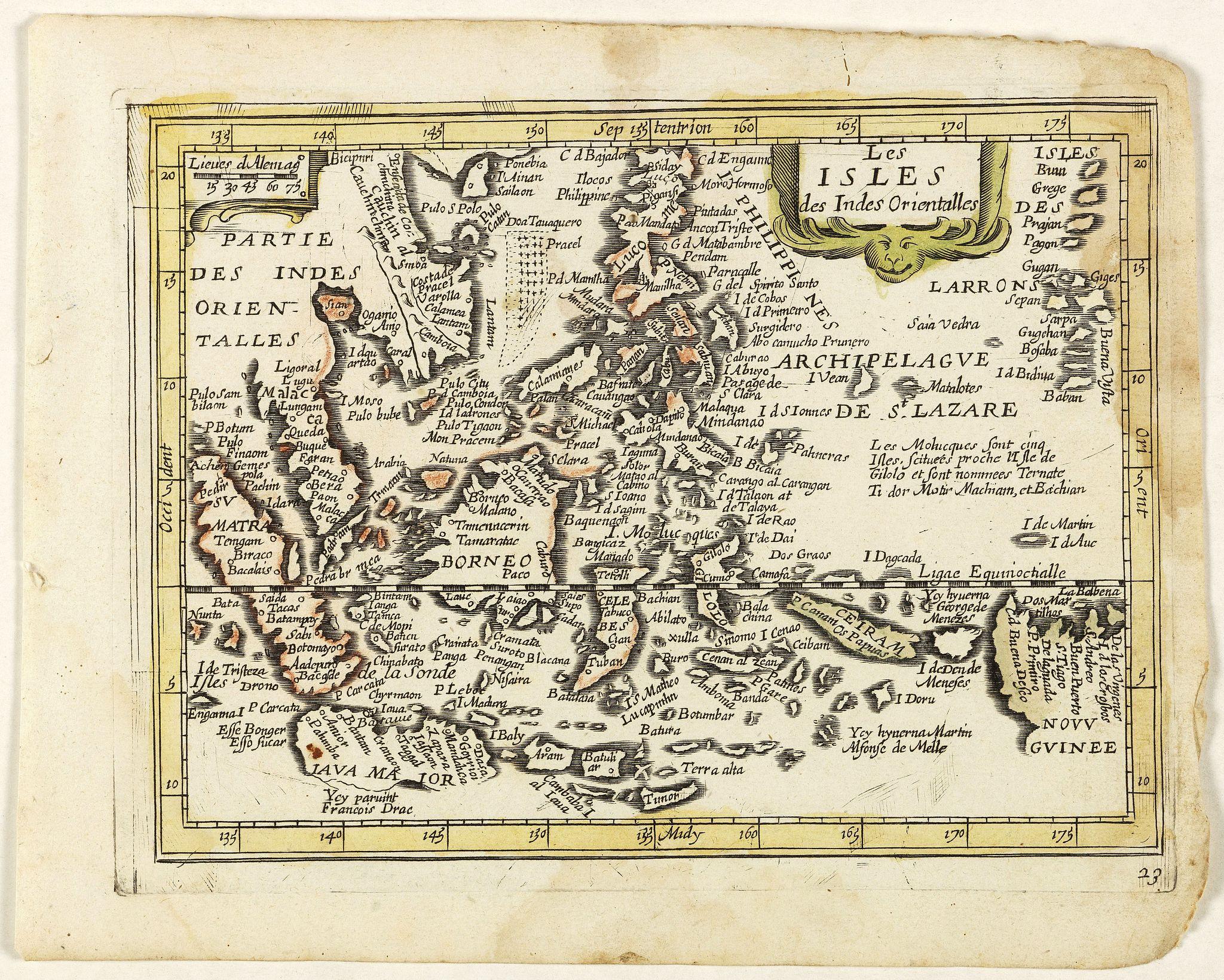 PICART, Nicolas / DUVAL, Pierre. -  Les Isles des Indes Orientales. (23).
