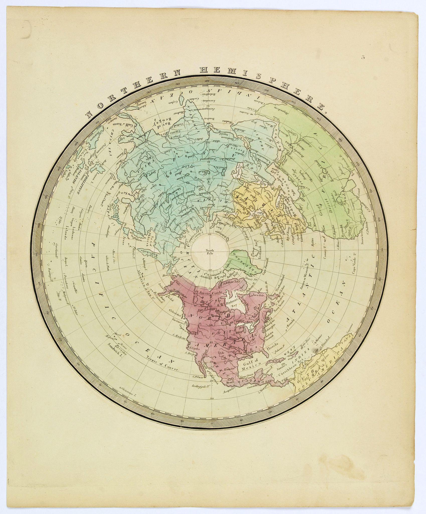 BURR, David. - Northern Hemisphere.